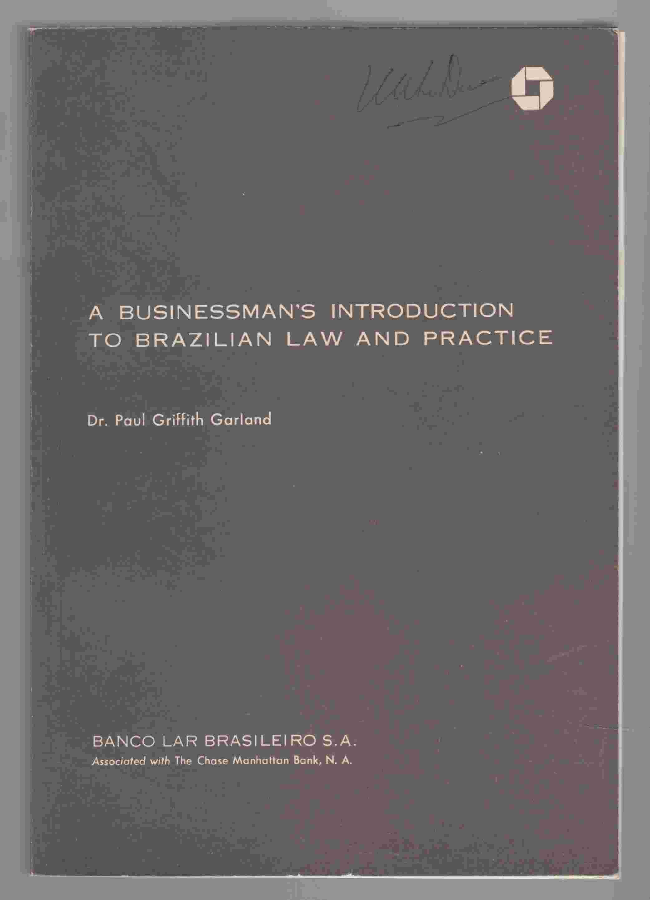 Image for A Businessman's Introduction to Brazilian Law and Practice