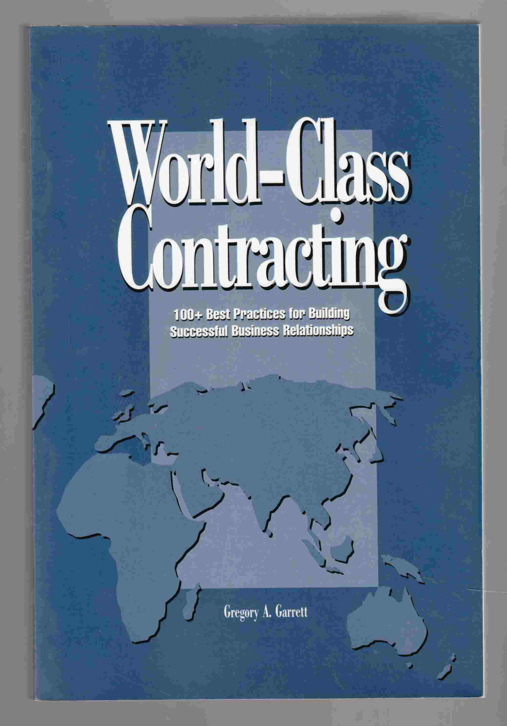 Image for World-Class Contracting