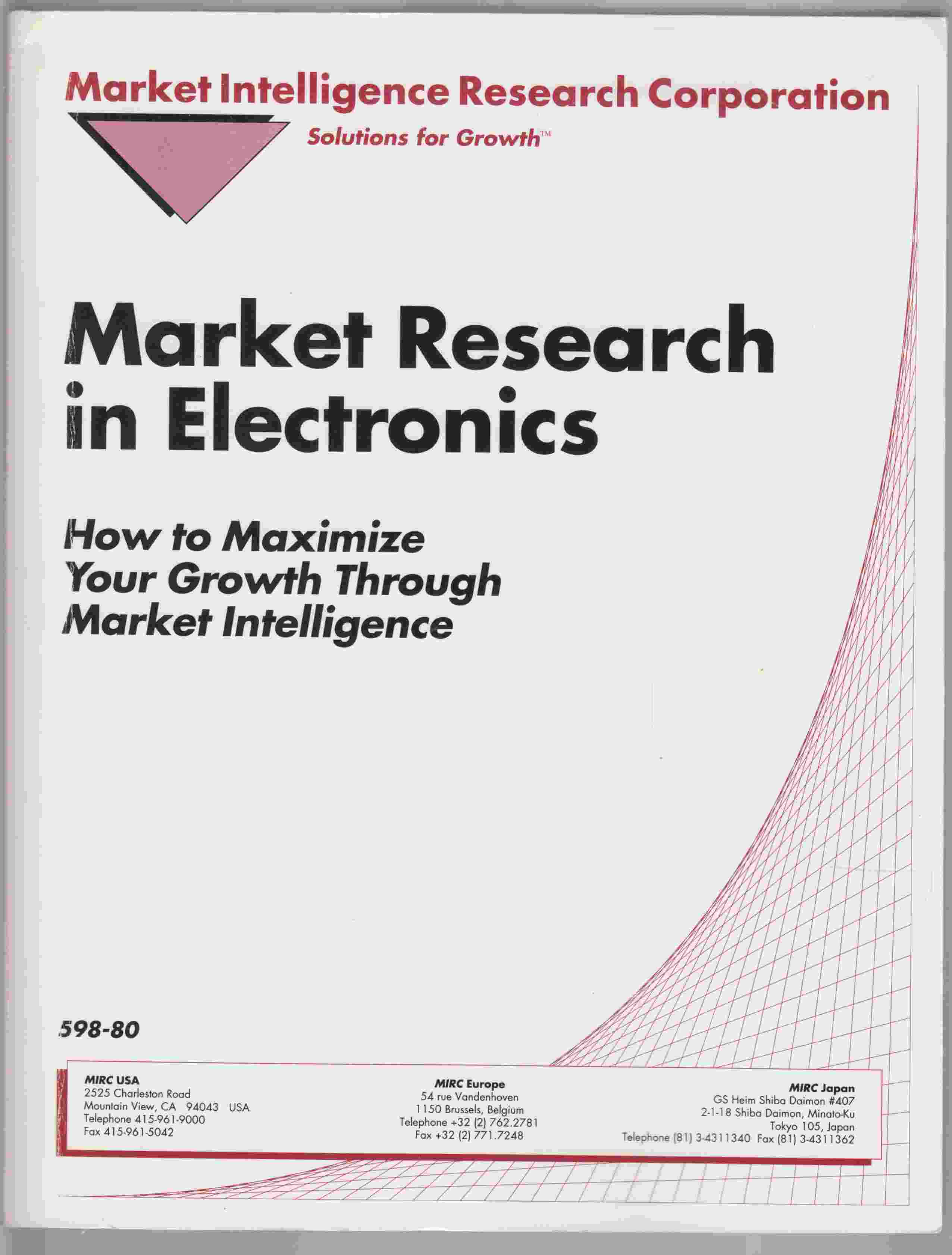 Image for Market Research in Electronics: How to Maximize Your Growth Through Market Intelligence