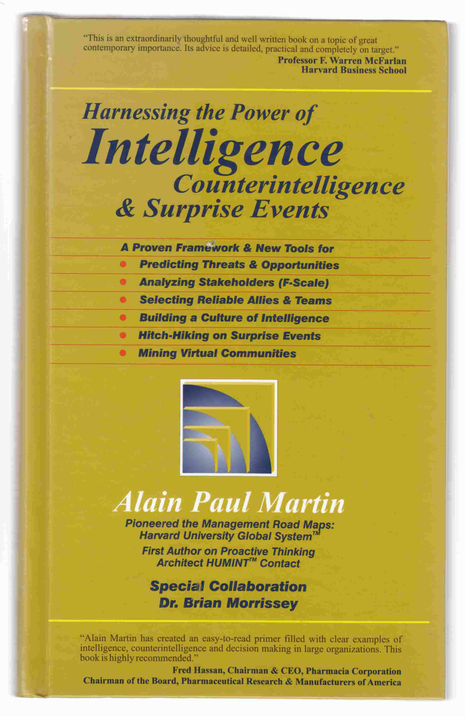 Image for Harnessing the Power of Intelligence, Counterintelligence and Surprise Events