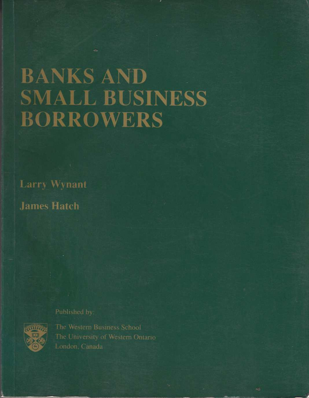Image for Banks and Small Business Borrowers