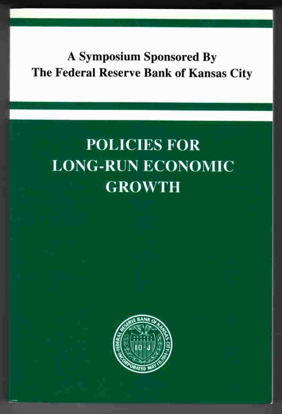 Image for Policies for Long-Run Economic Growth