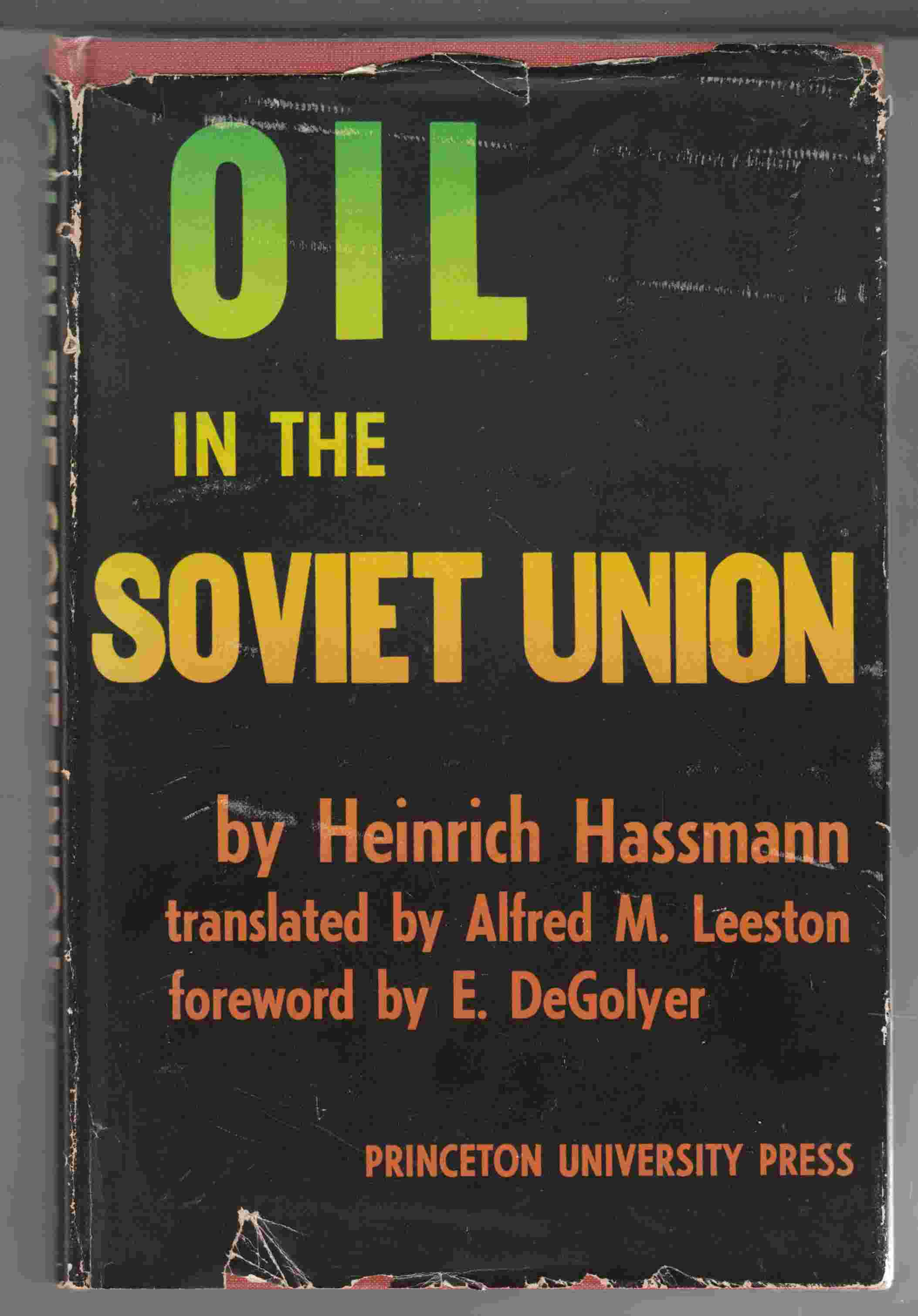 Image for Oil in the Soviet Union History Geography Problems