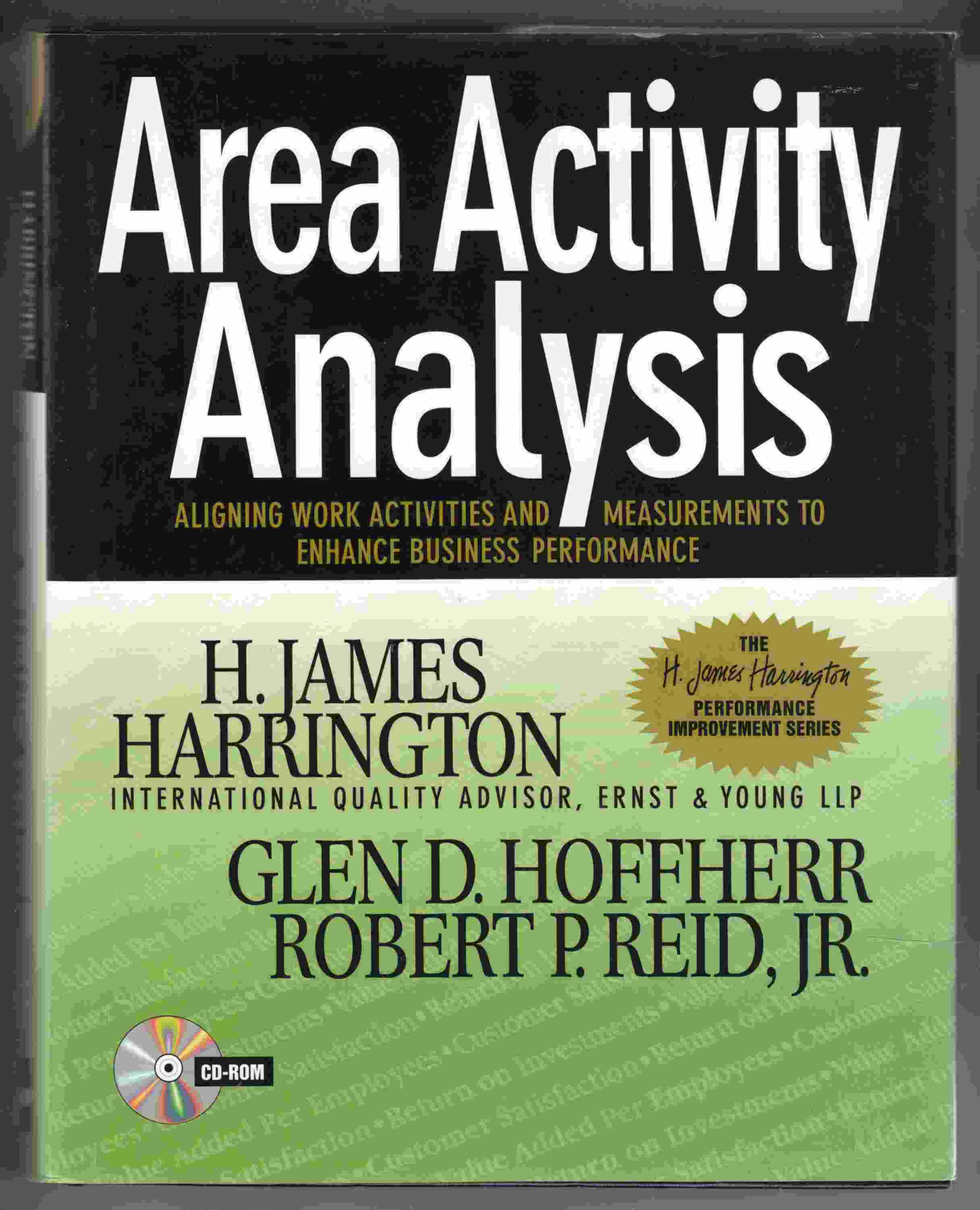 Image for Area Activity Analysis Aligning Work Activities and Measurements to Enhance Business Performance
