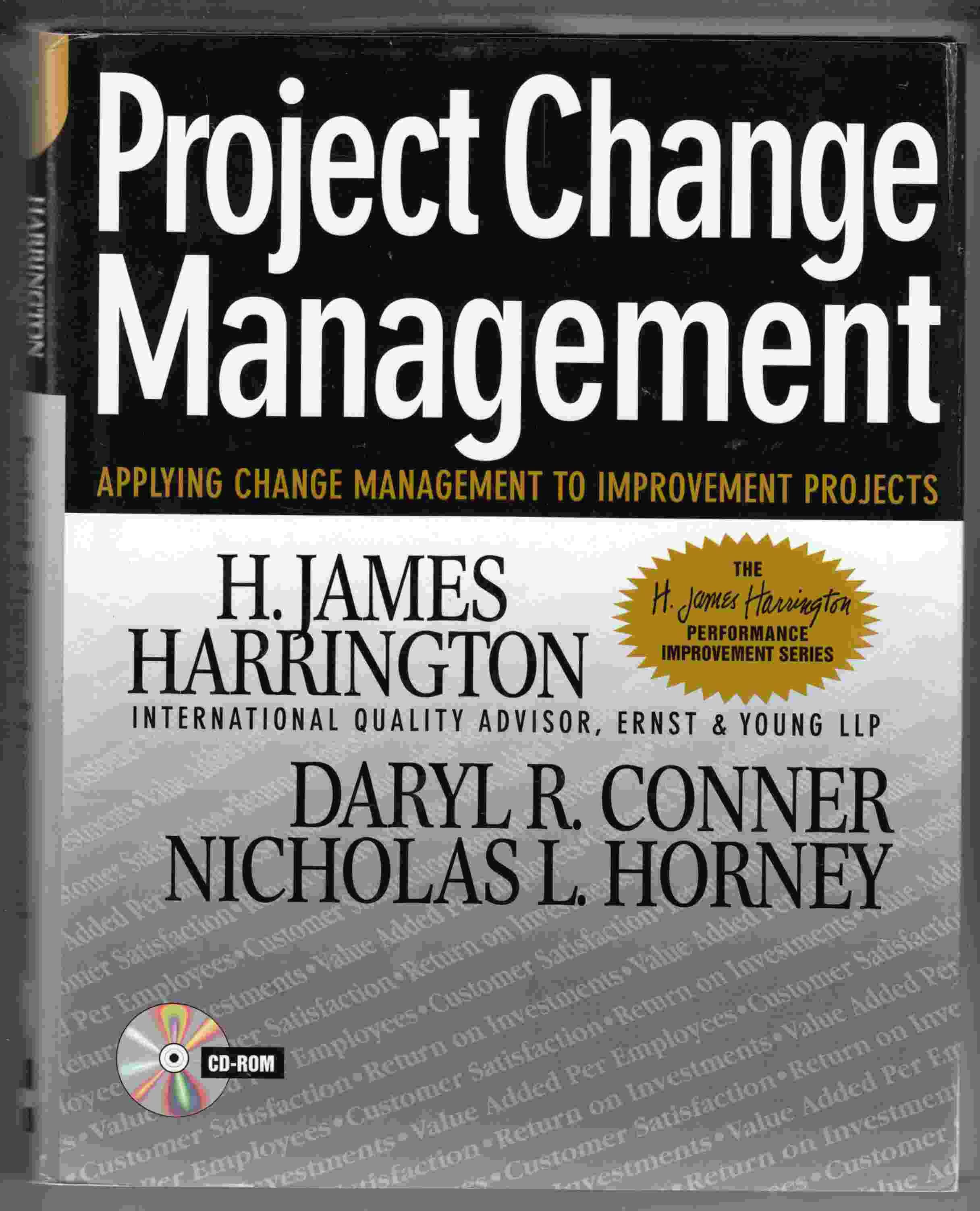 Image for Project Change Management Applying Change Management to Improvement Projects