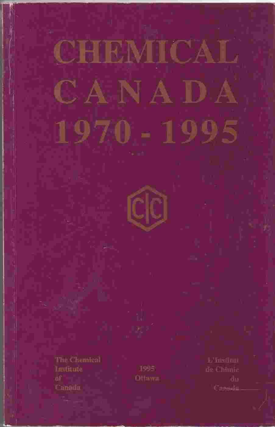 Image for Chemical Canada, 1970-1995