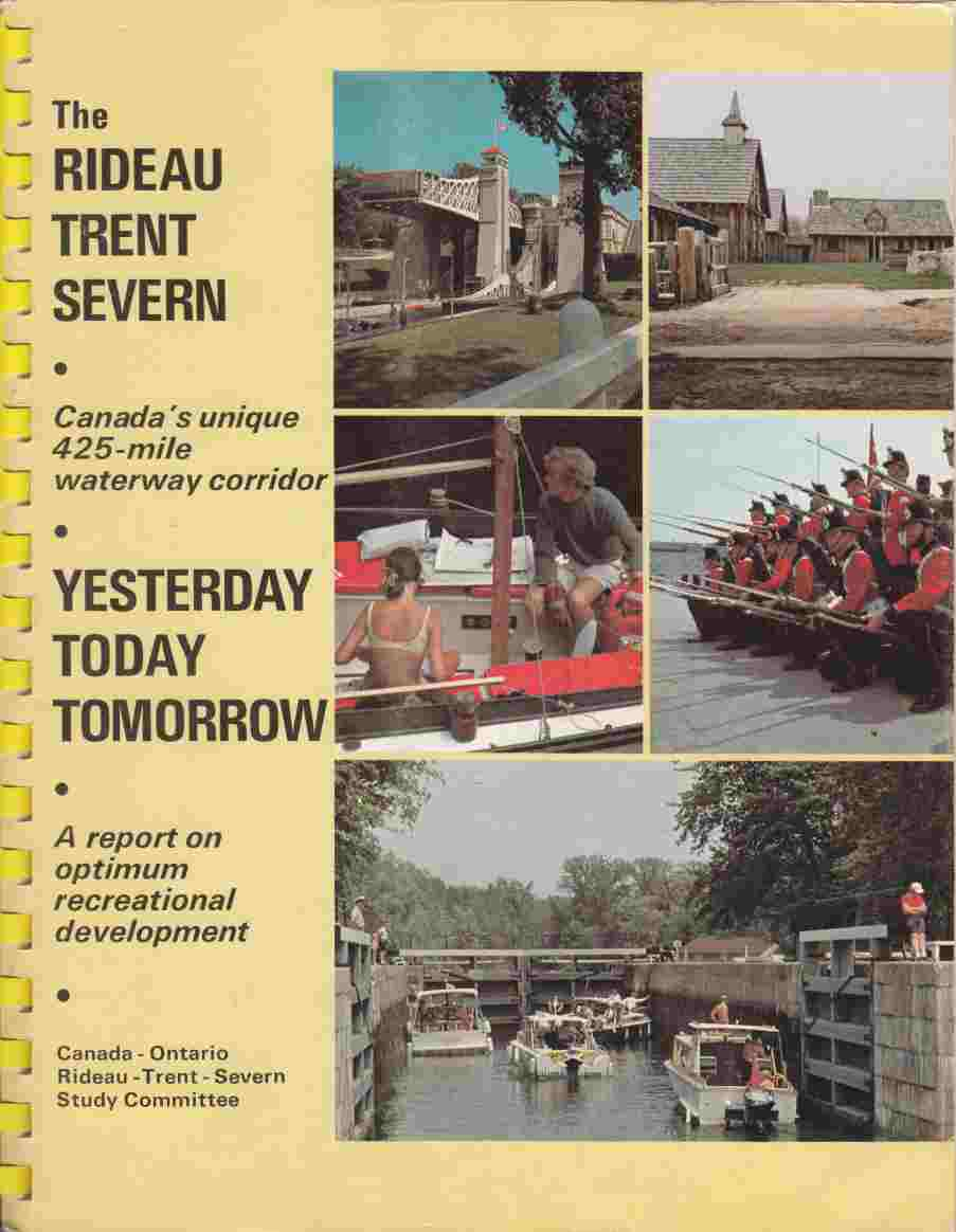 Image for The Rideau Trent Severn Yesterday Today Tomorrow
