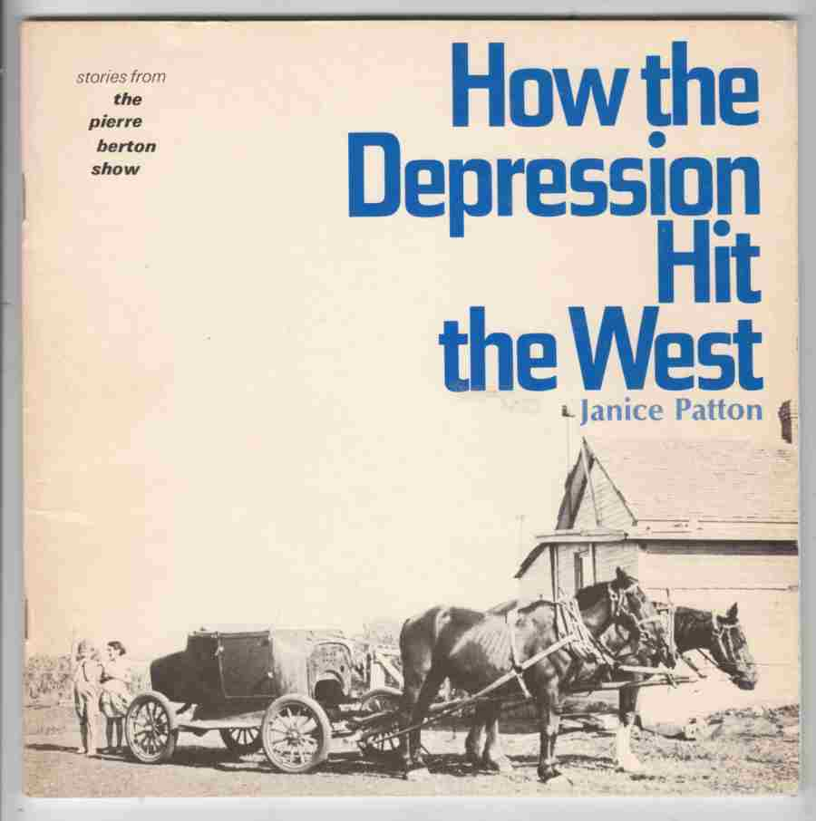 Image for How the Depression Hit the West