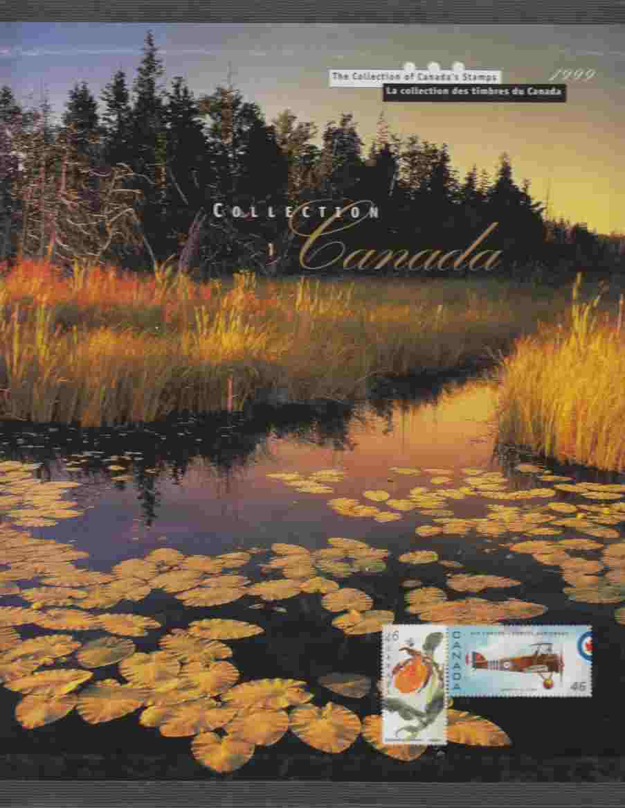 Image for The Collection of Canada's Stamps 1999 La Collection Des Timbres Du Canada