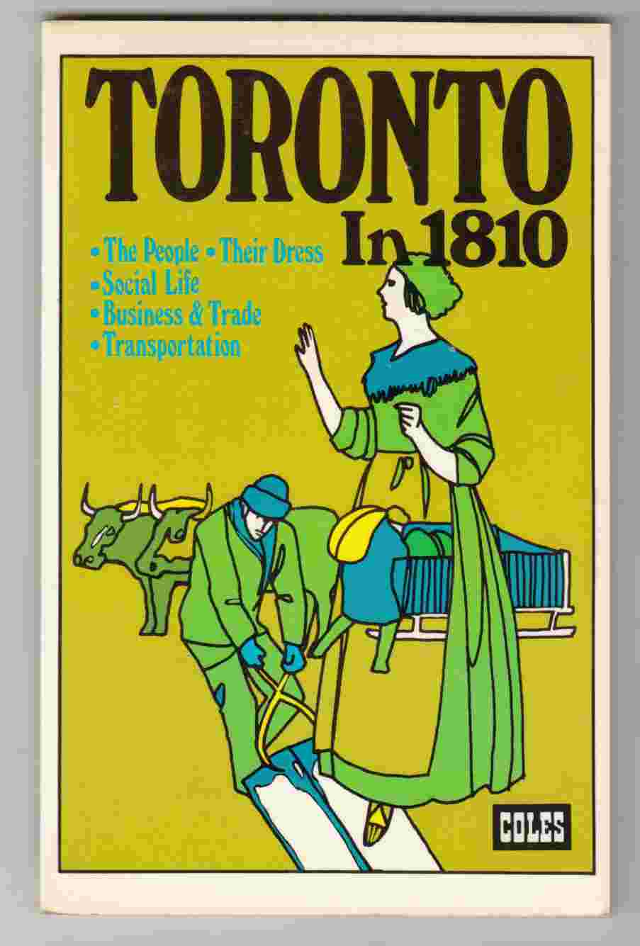 Image for Toronto in 1810 Daily Life