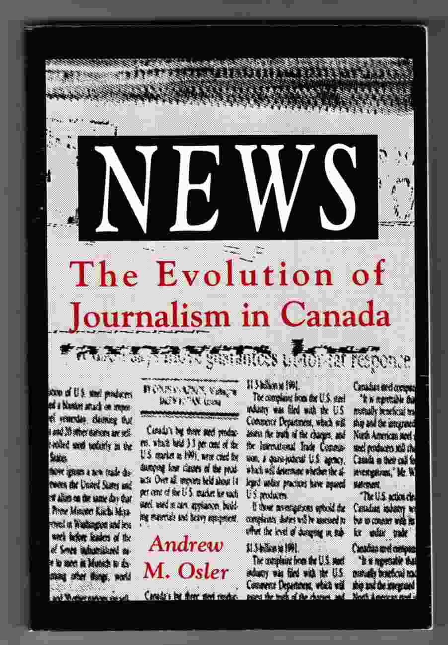 Image for News The Evolution of Journalism in Canada