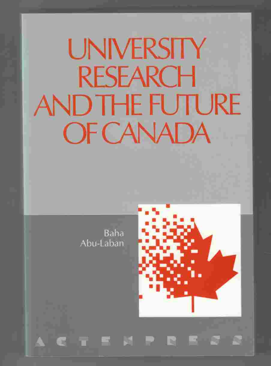Image for University Research and the Future of Canada