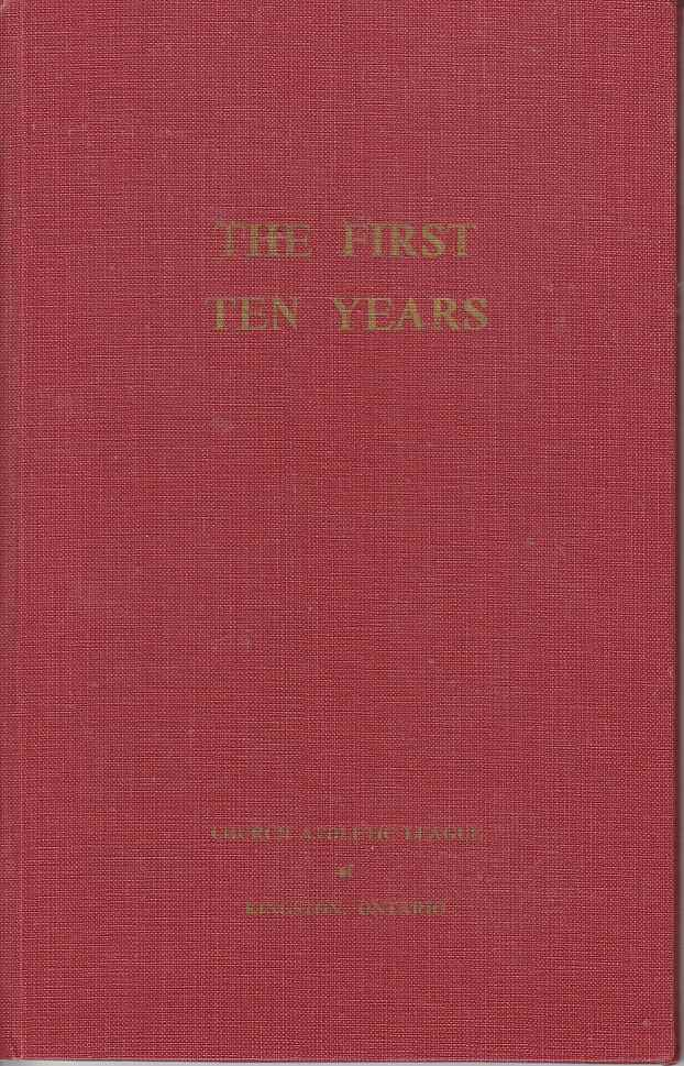 Image for The First Ten Years