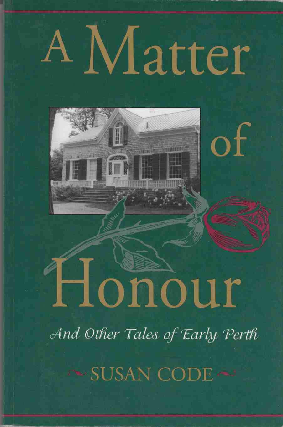 Image for A Matter of Honour And Other Tales of Early Perth
