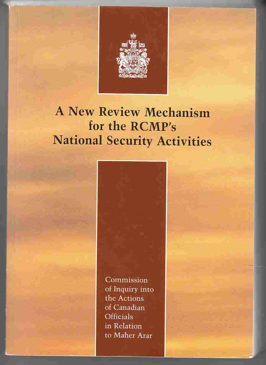Image for A New Review Mechanism for the RCMP's National Security Activities