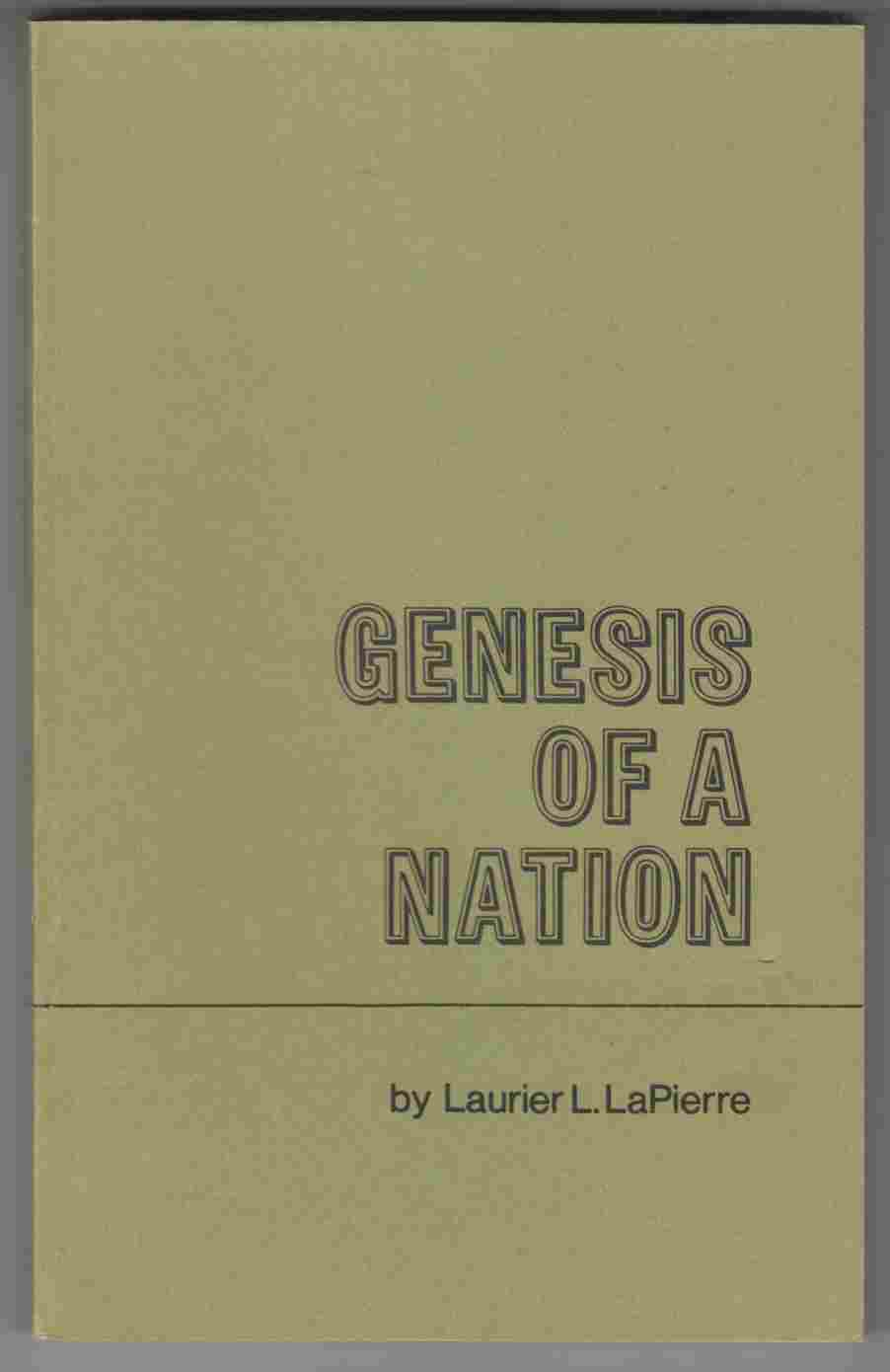 Image for Genesis of a Nation British North America: 1776-1867