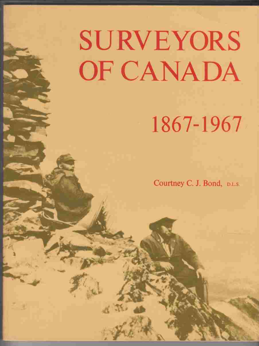 Image for Surveyors of Canada 1867-1967