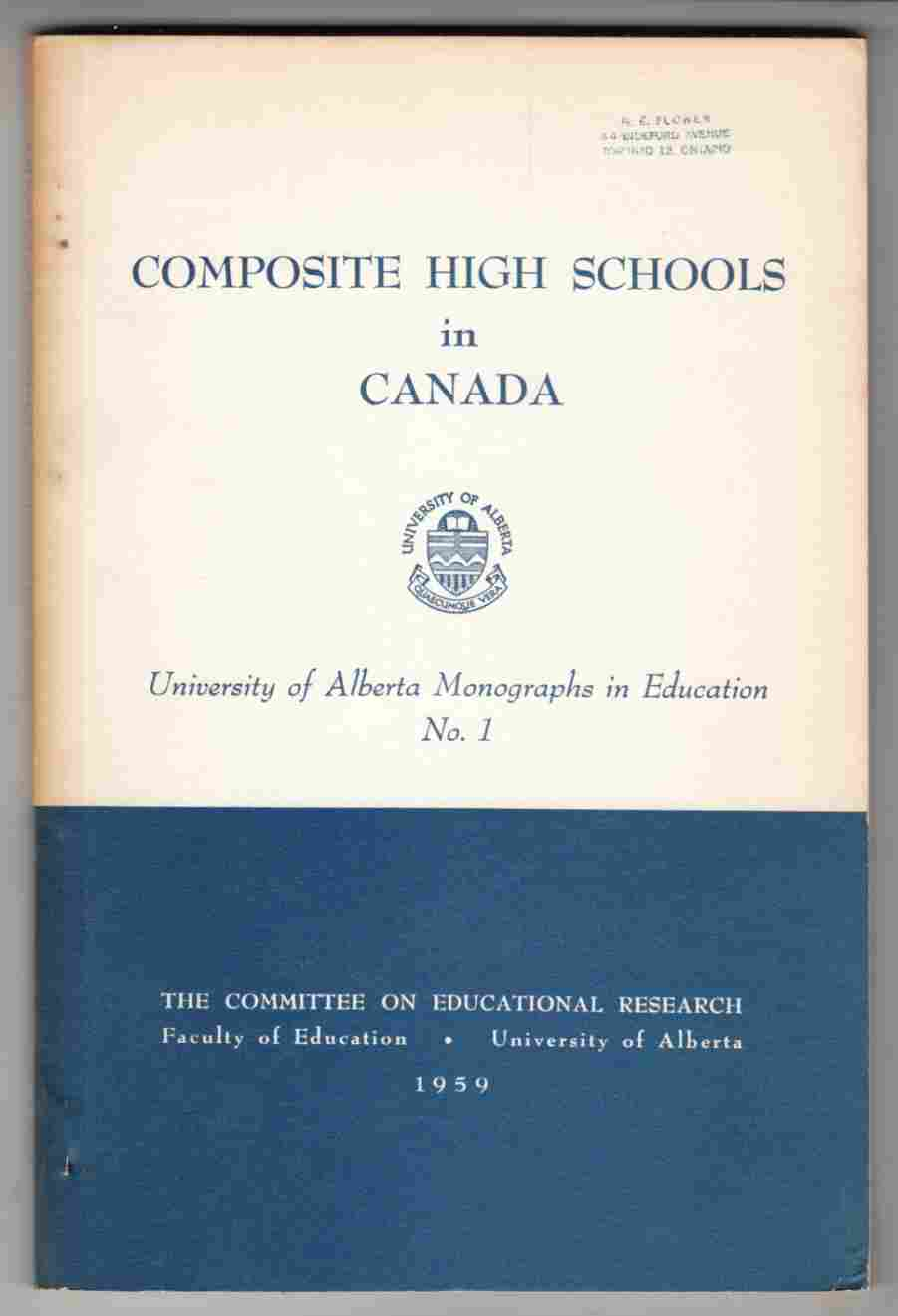 Image for Composite High Schools in Canada