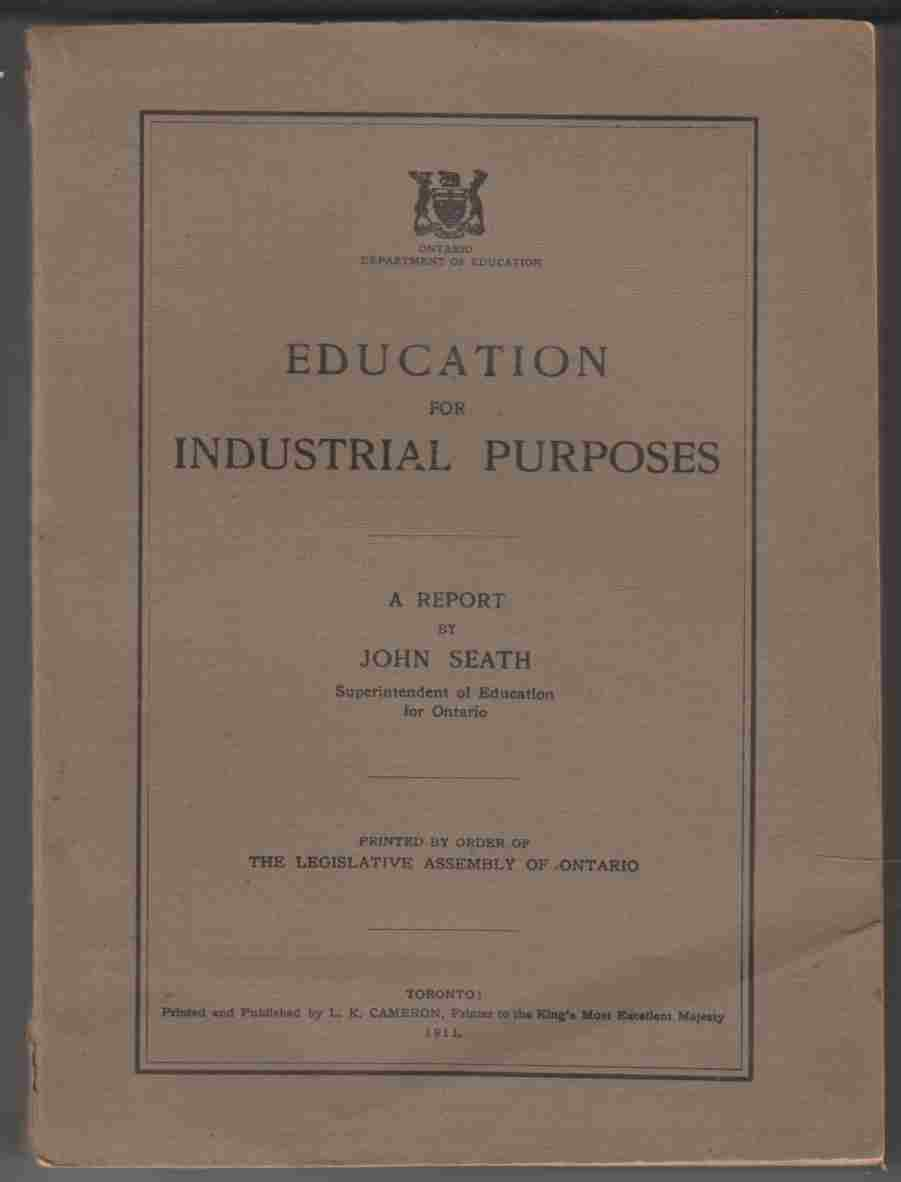 Image for Education for Industrial Purposes