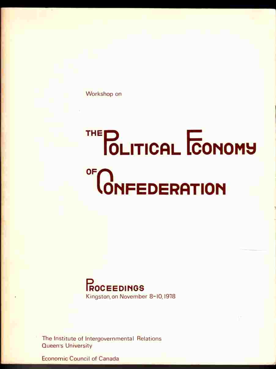 Image for Workshop on the Political Economy of Confederation