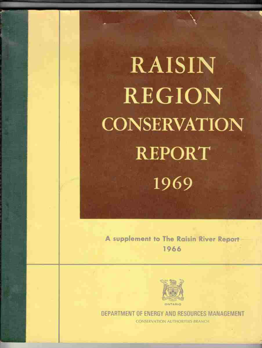 Image for Raisin Region Conservation Report 1969