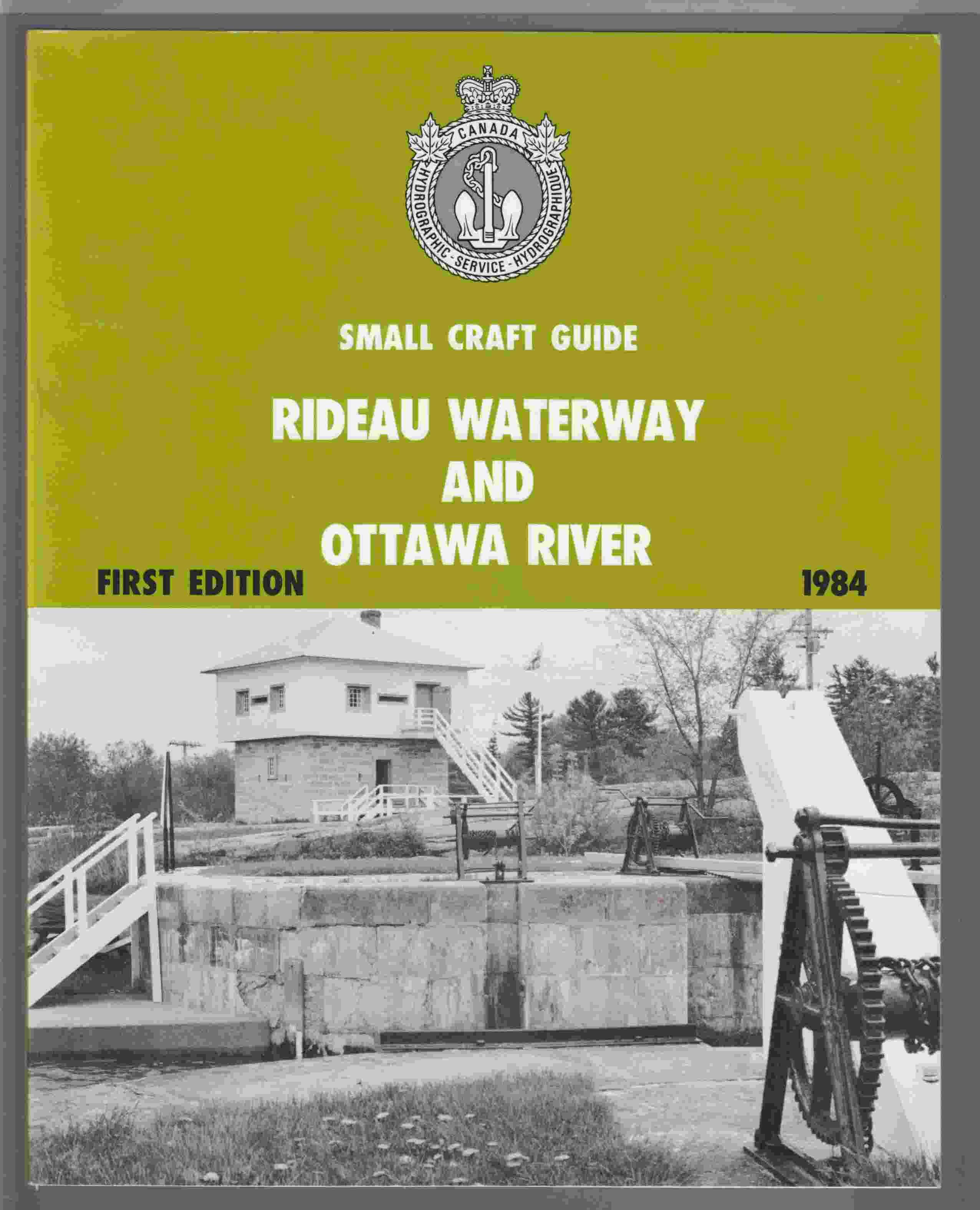 Image for Small Craft Guide - Rideau Waterway and Ottawa River