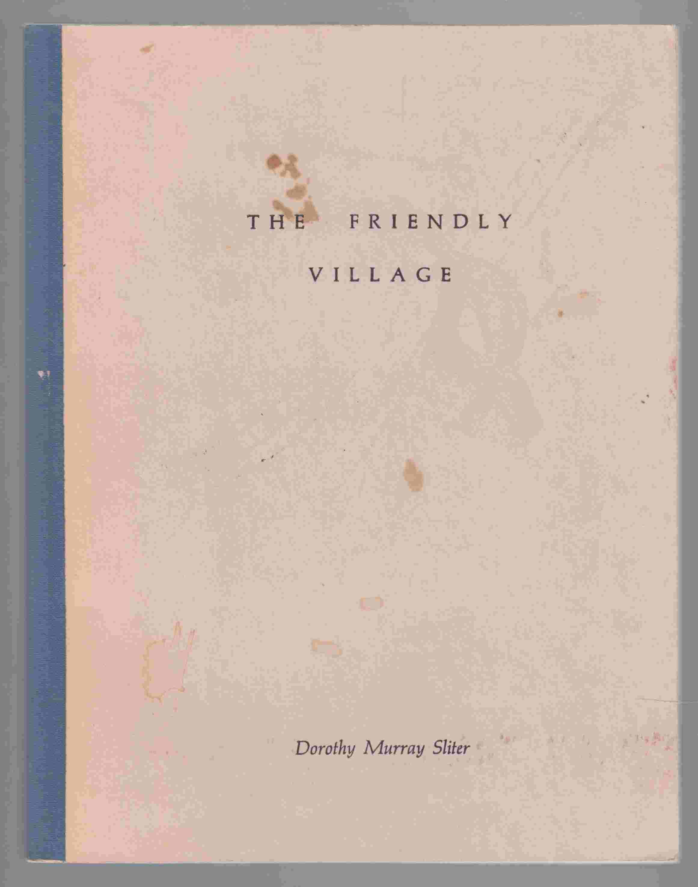 Image for The Friendly Village & Ten Poems