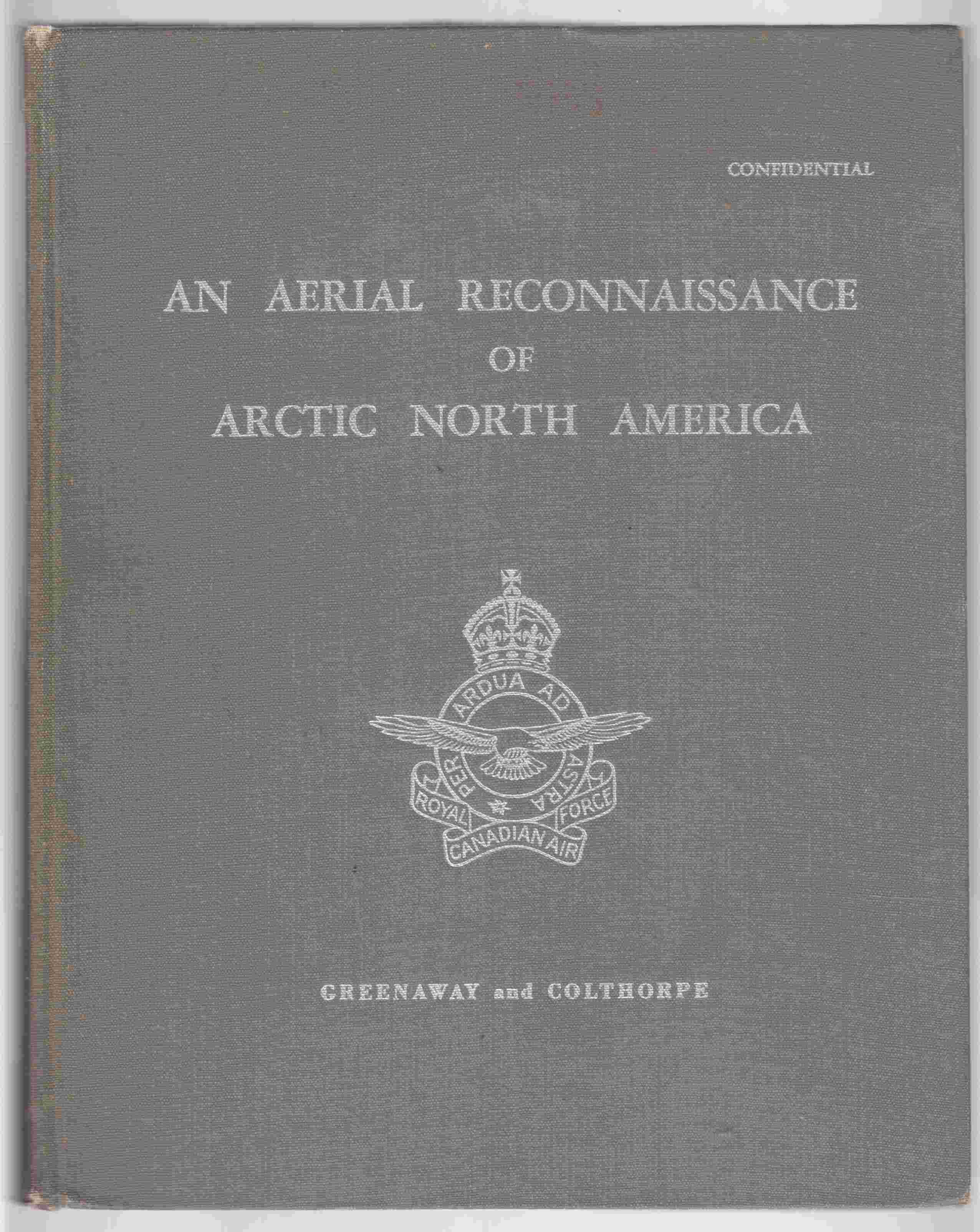 Image for An Aerial Reconnaissance of Arctic North America
