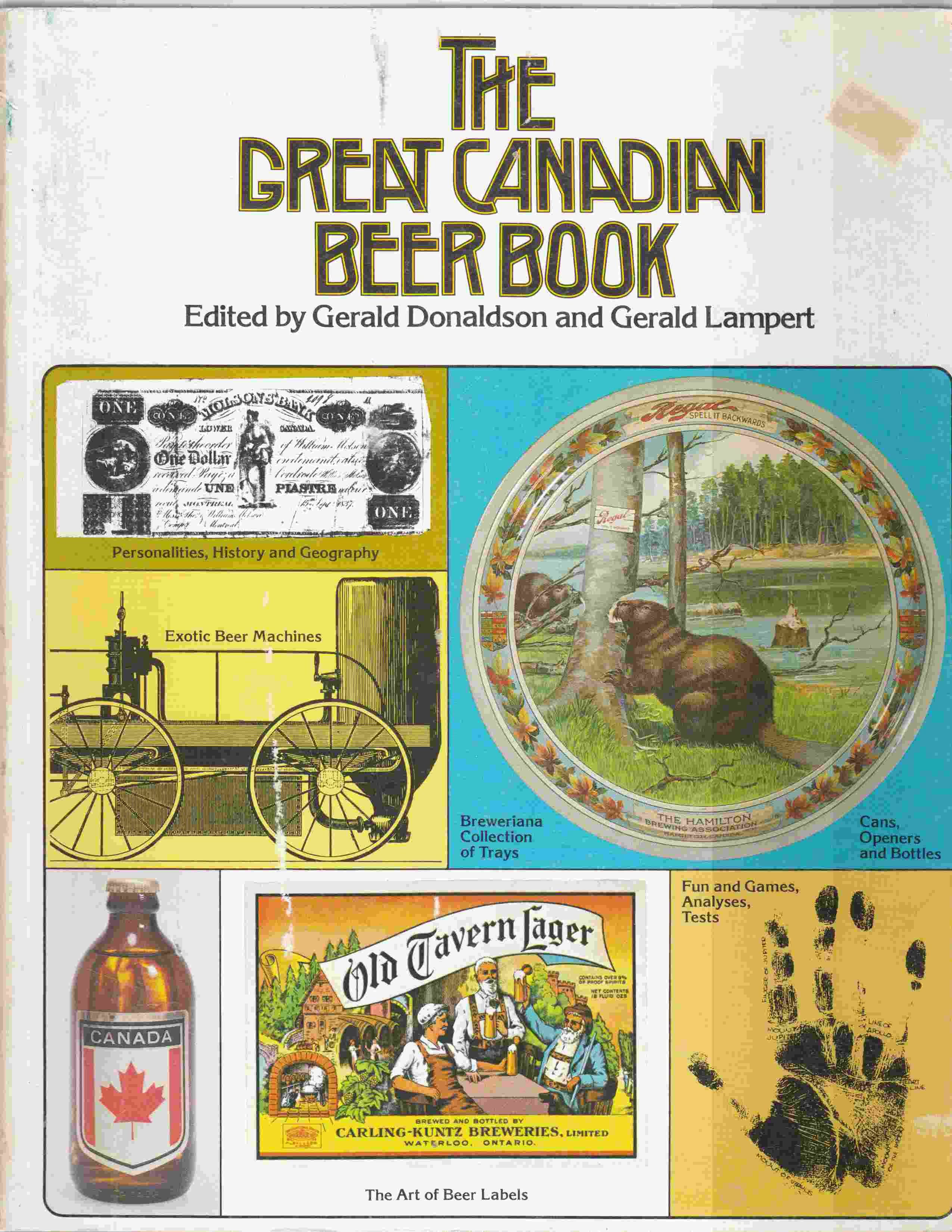 Image for The Great Canadian Beer Book