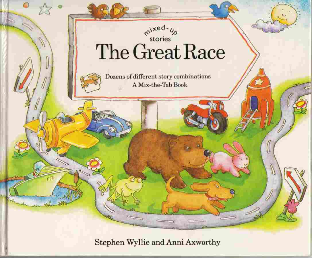 Image for Mixed-up Stories: The Great Race
