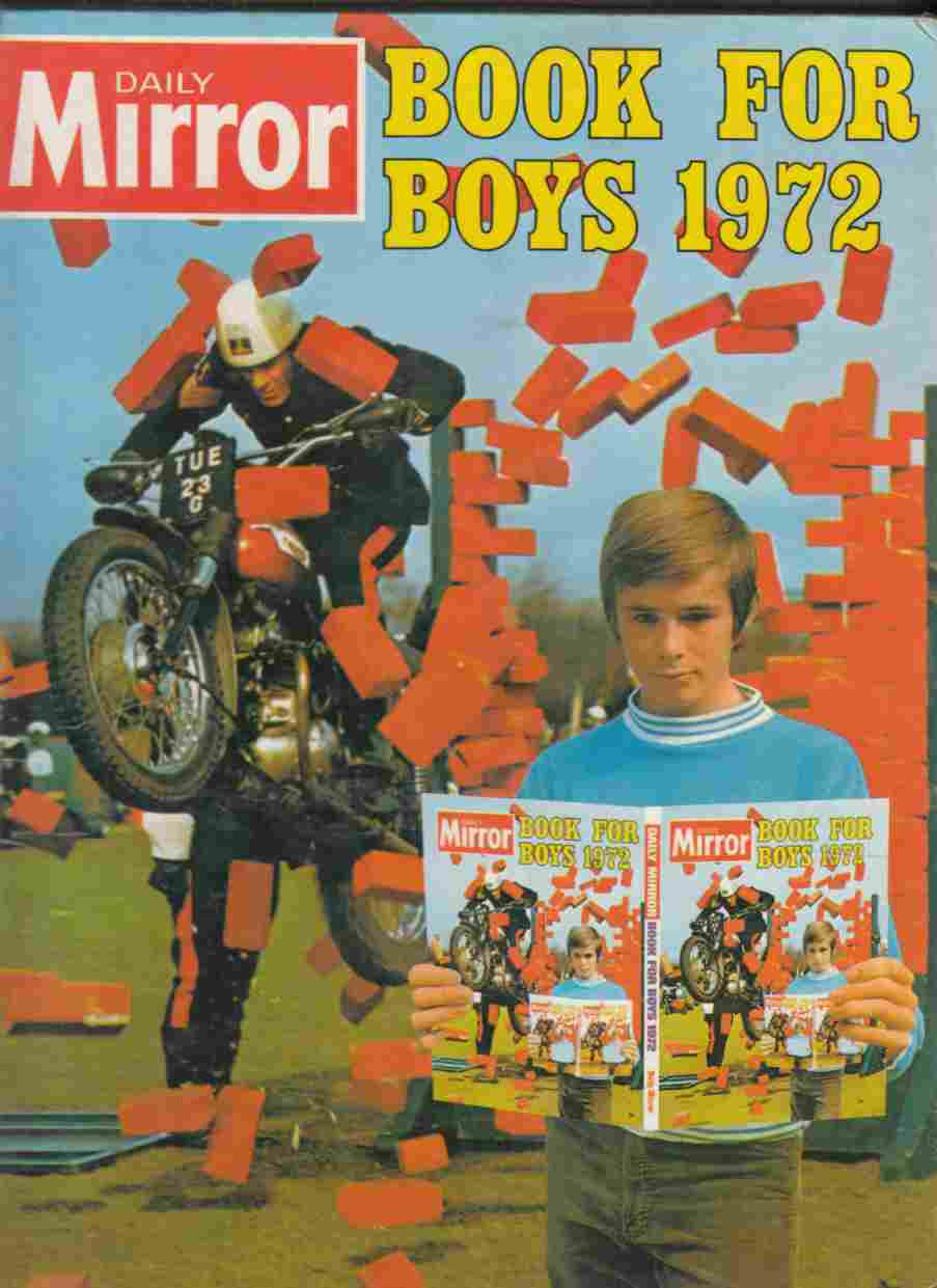Image for Daily Mirror Book for Boys 1972