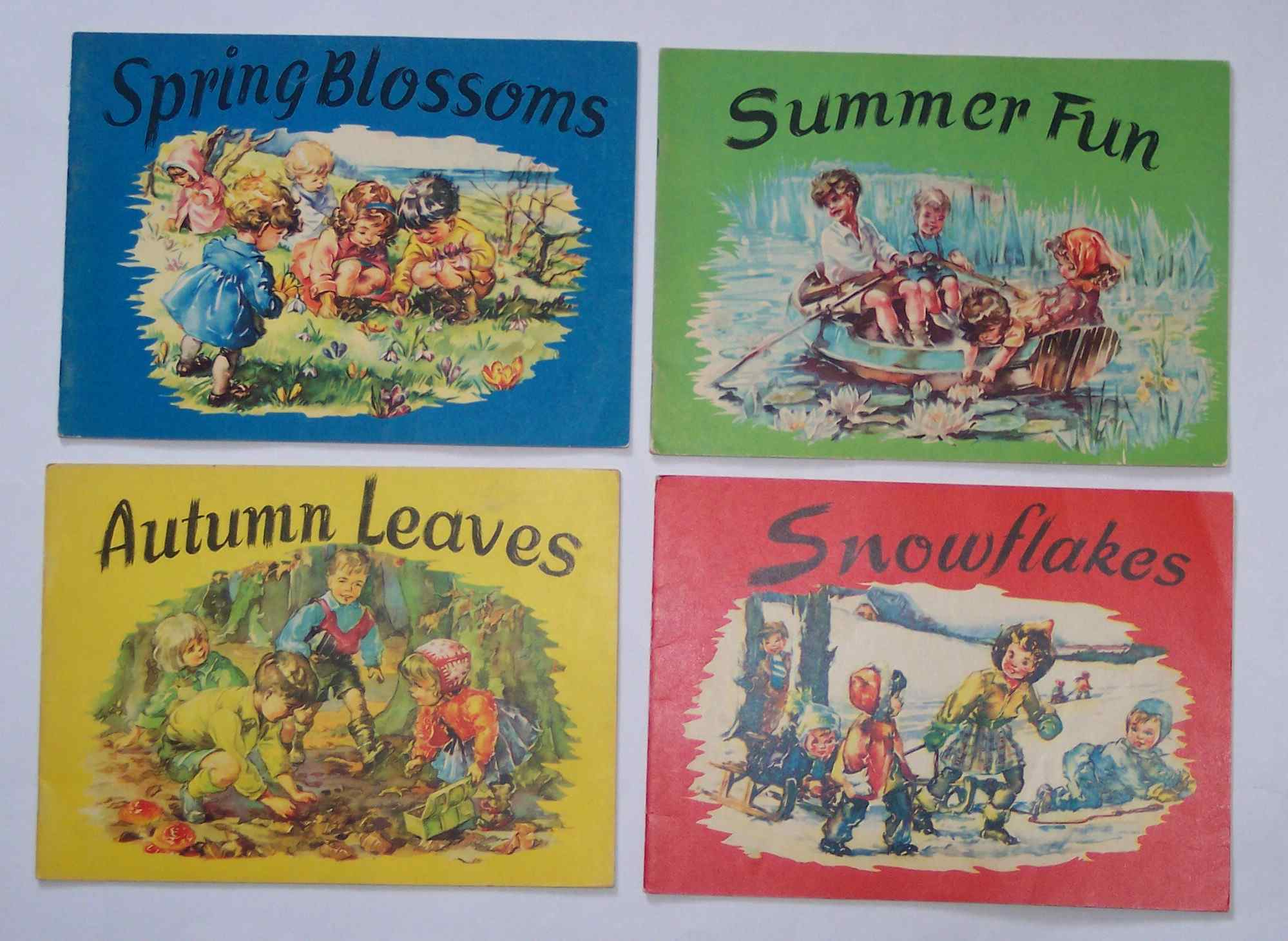 Image for Spring Blossoms, Summer Fun, Autumn Leaves, Snowflakes (4 Volumes)