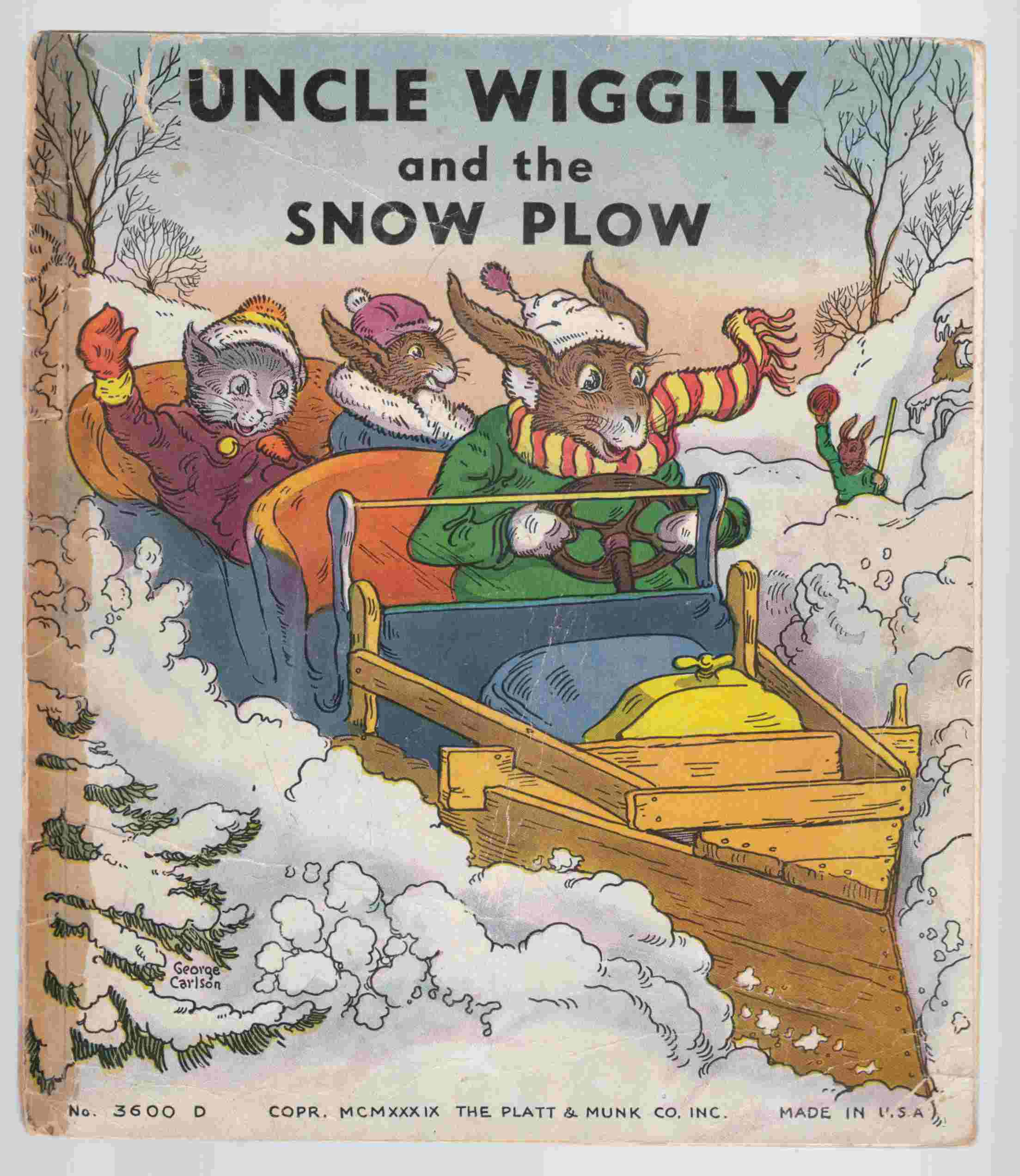 Image for Uncle Wiggily and the Snow Plow