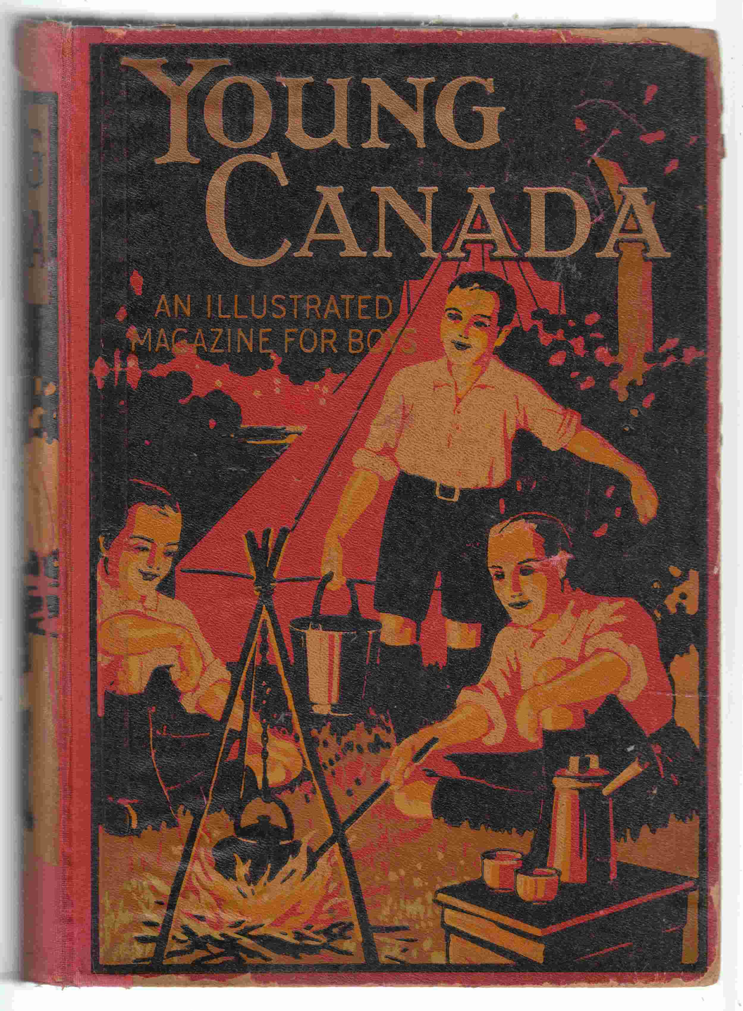 Image for Young Canada. Thirty-Fifth Annual Volume, 1914
