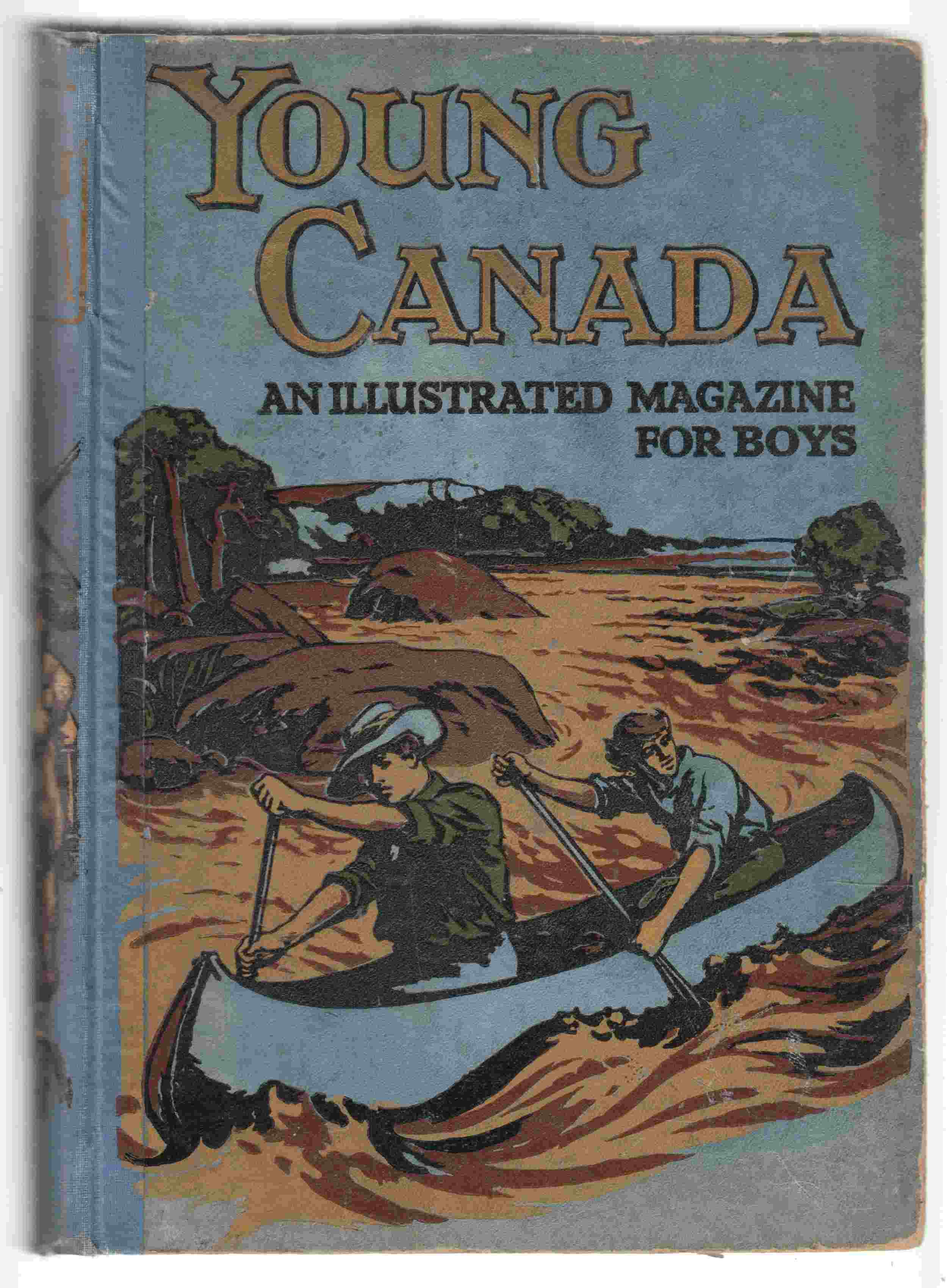 Image for Young Canada. Thirty-Fourth Annual Volume, 1913
