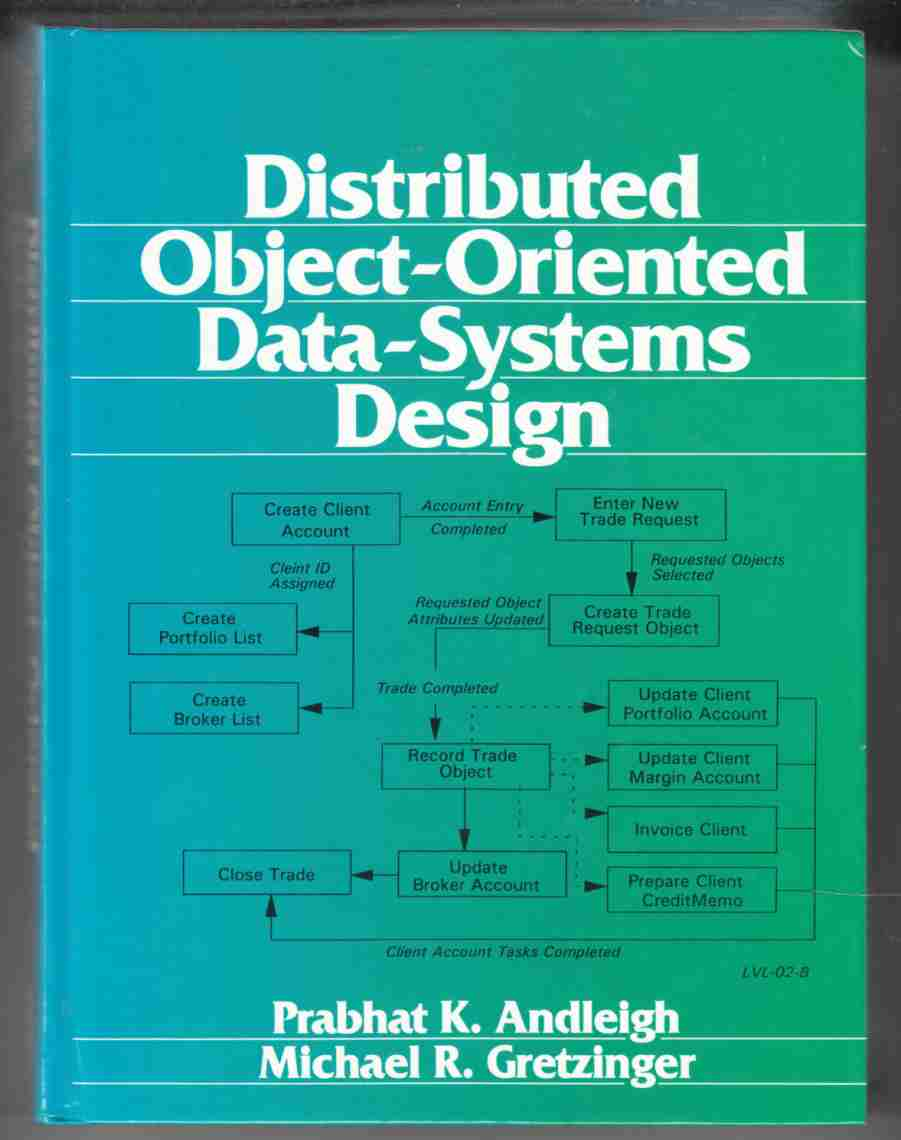 Image for Distributed Object Oriented Data-Systems Design