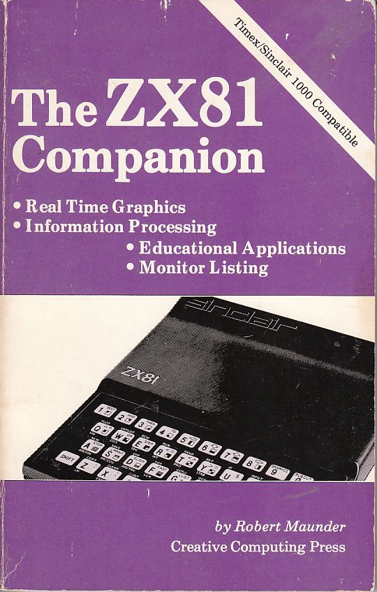 Image for The ZX-81 Companion