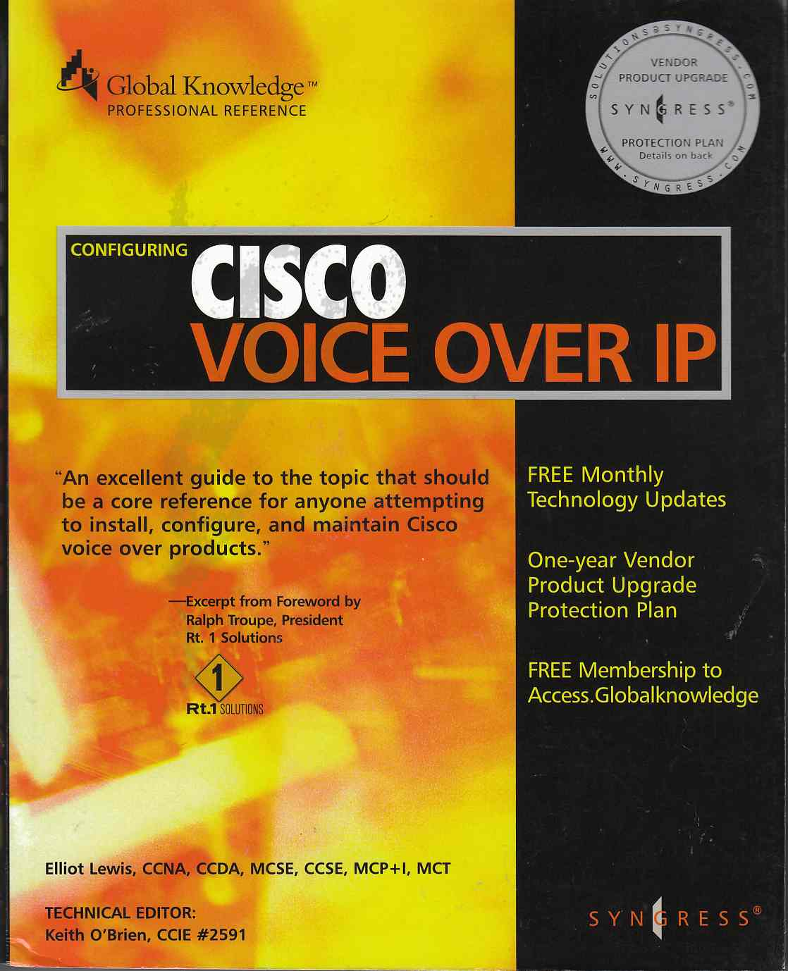 Image for Configuring Cisco Voice Over IP