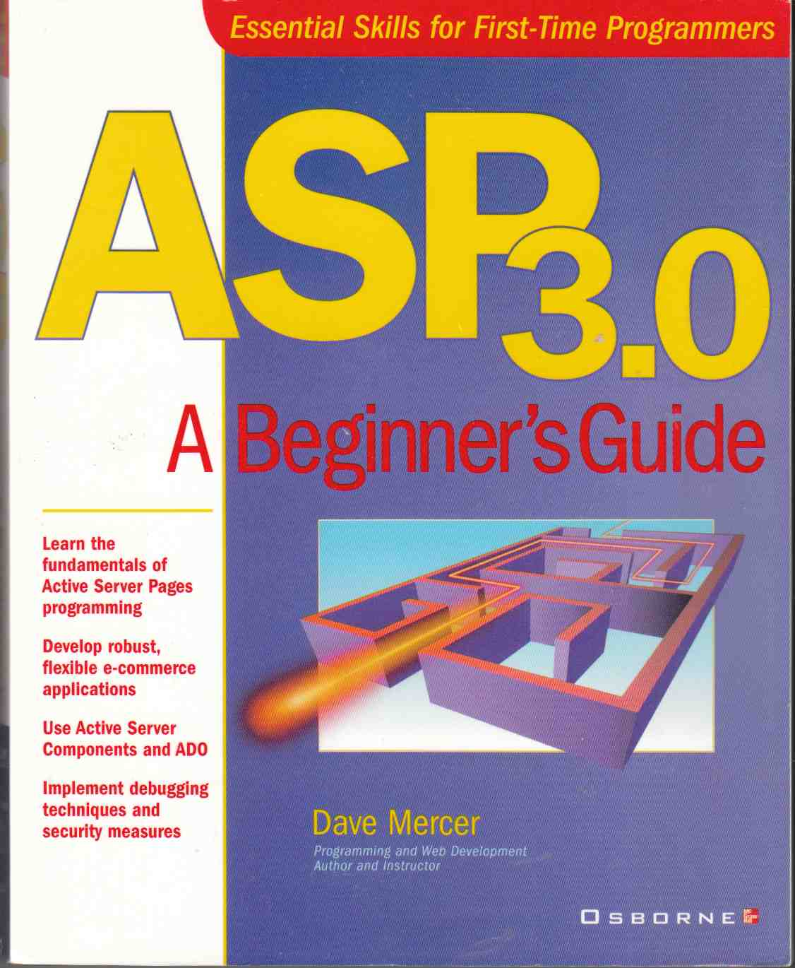 Image for ASP 3.0 A Beginner's Guide