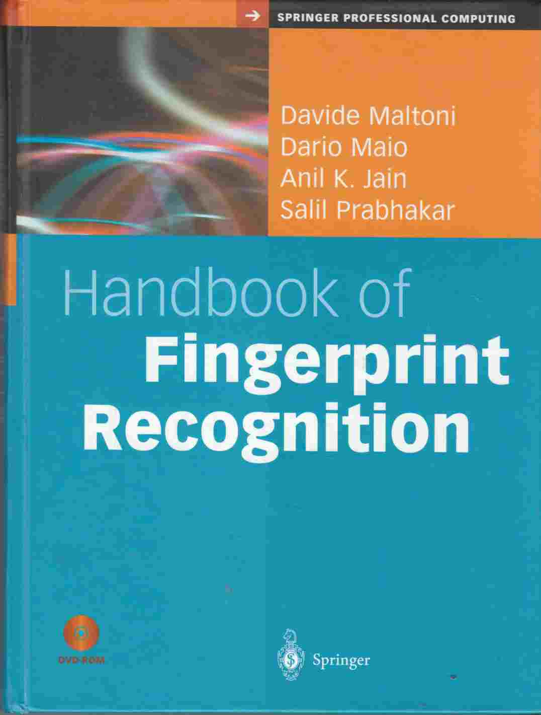 Image for Handbook of Fingerprint Recognition