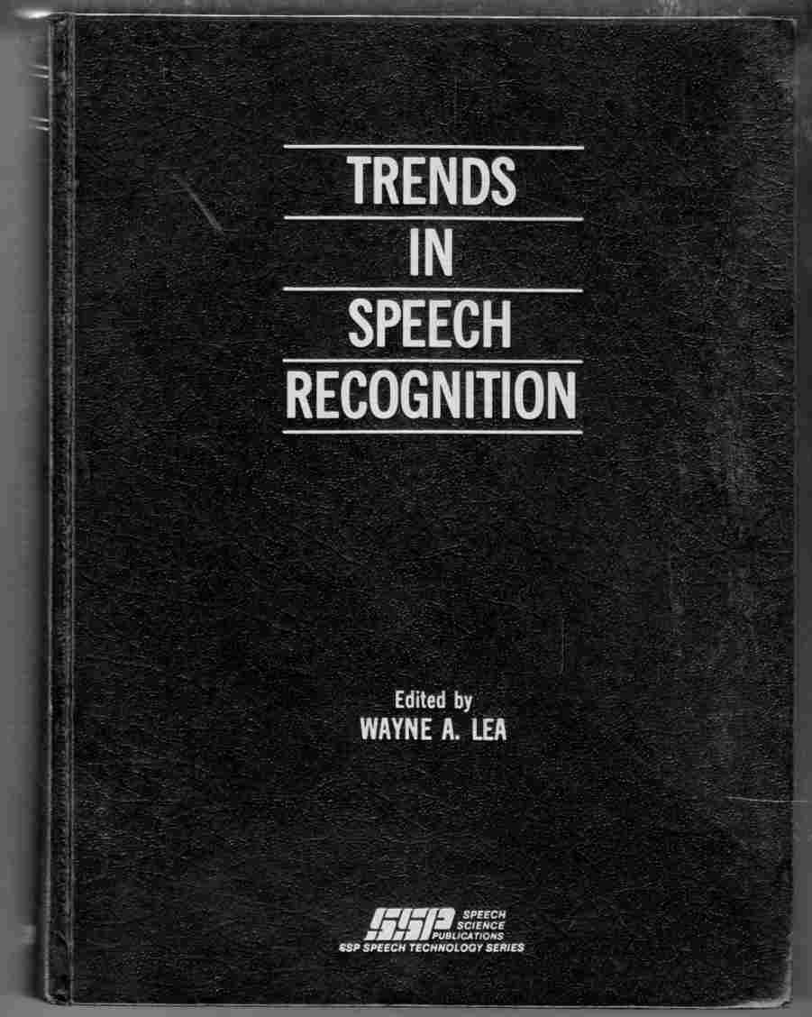 Image for Trends in Speech Recognition