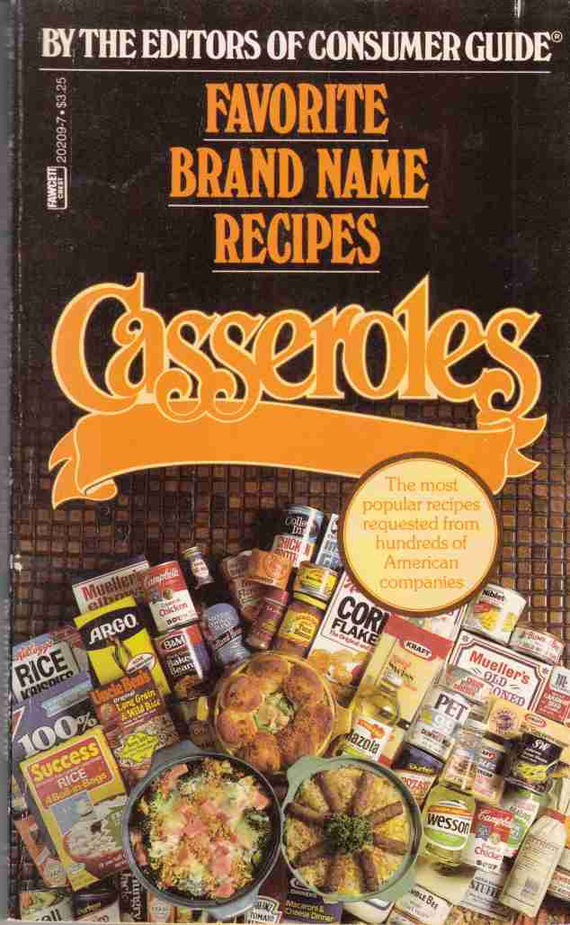 Image for Favorite Brand Name Recipes: Casseroles