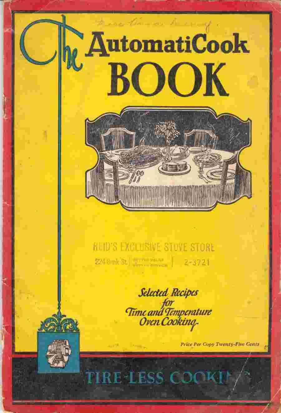 Image for The AutomatiCook Book Selected Recipes for Time and Temperature Cooking