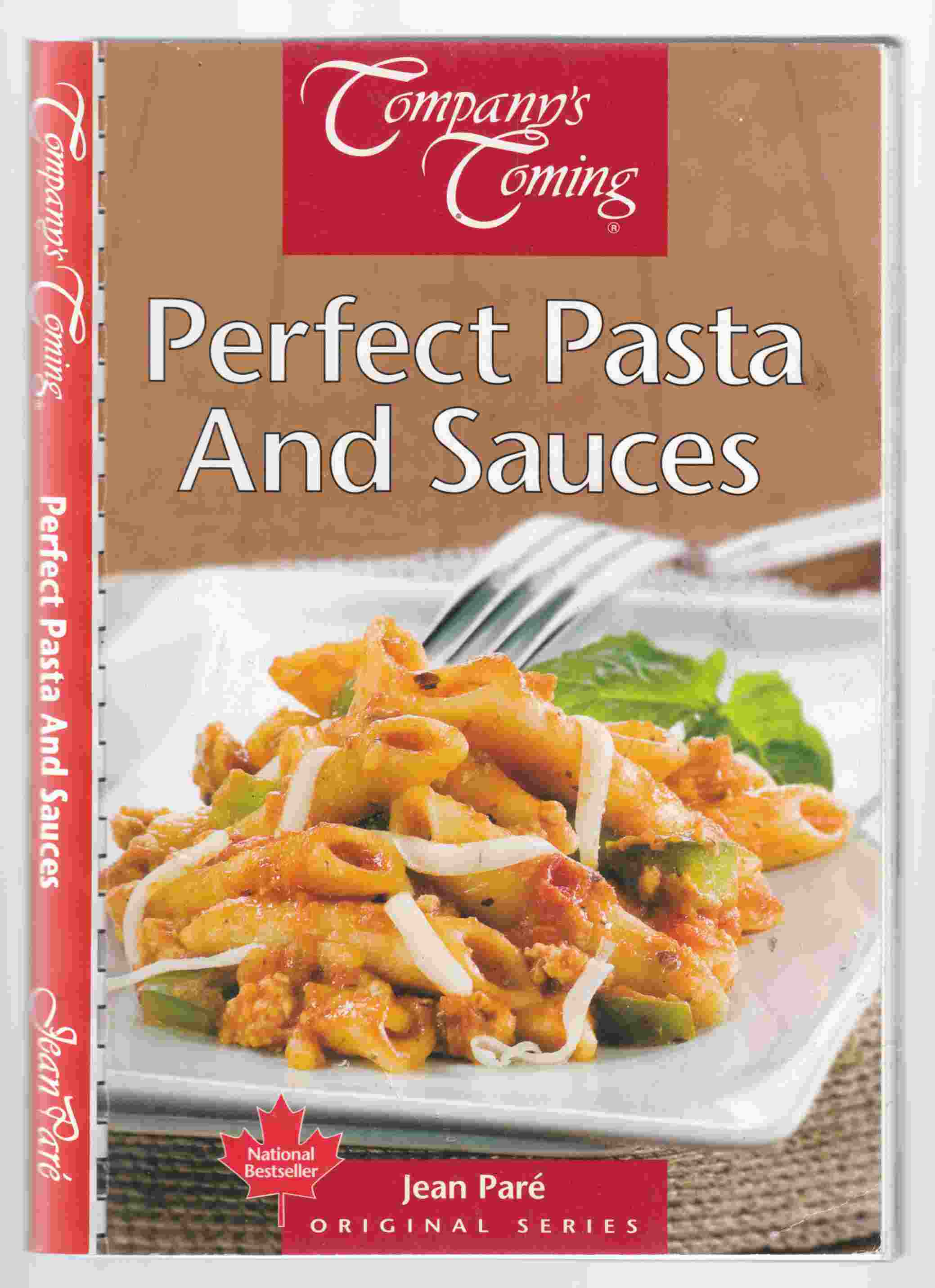 Image for Company's Coming Perfect Pasta and Sauces