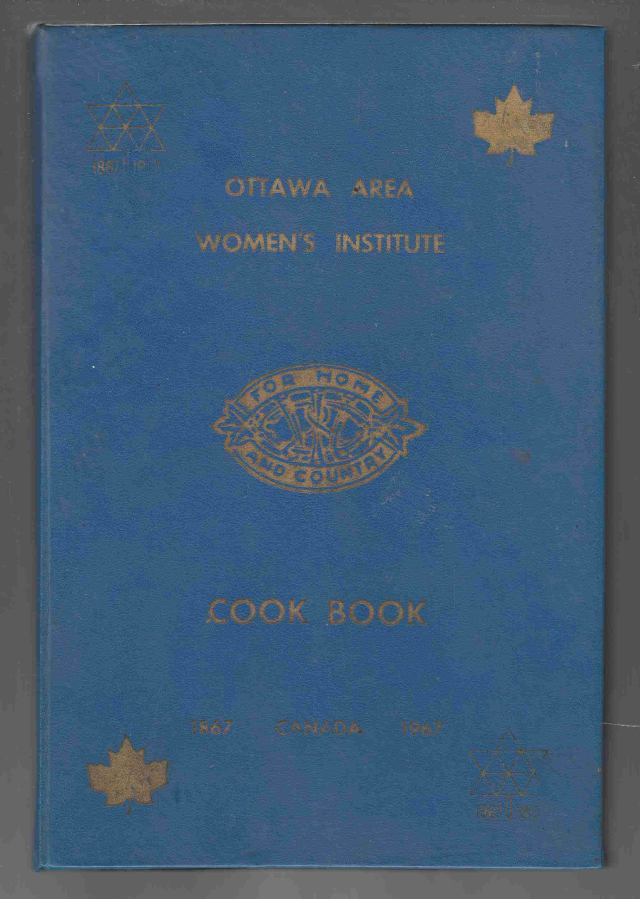 Image for Ottawa Area Women's Institute Cook Book