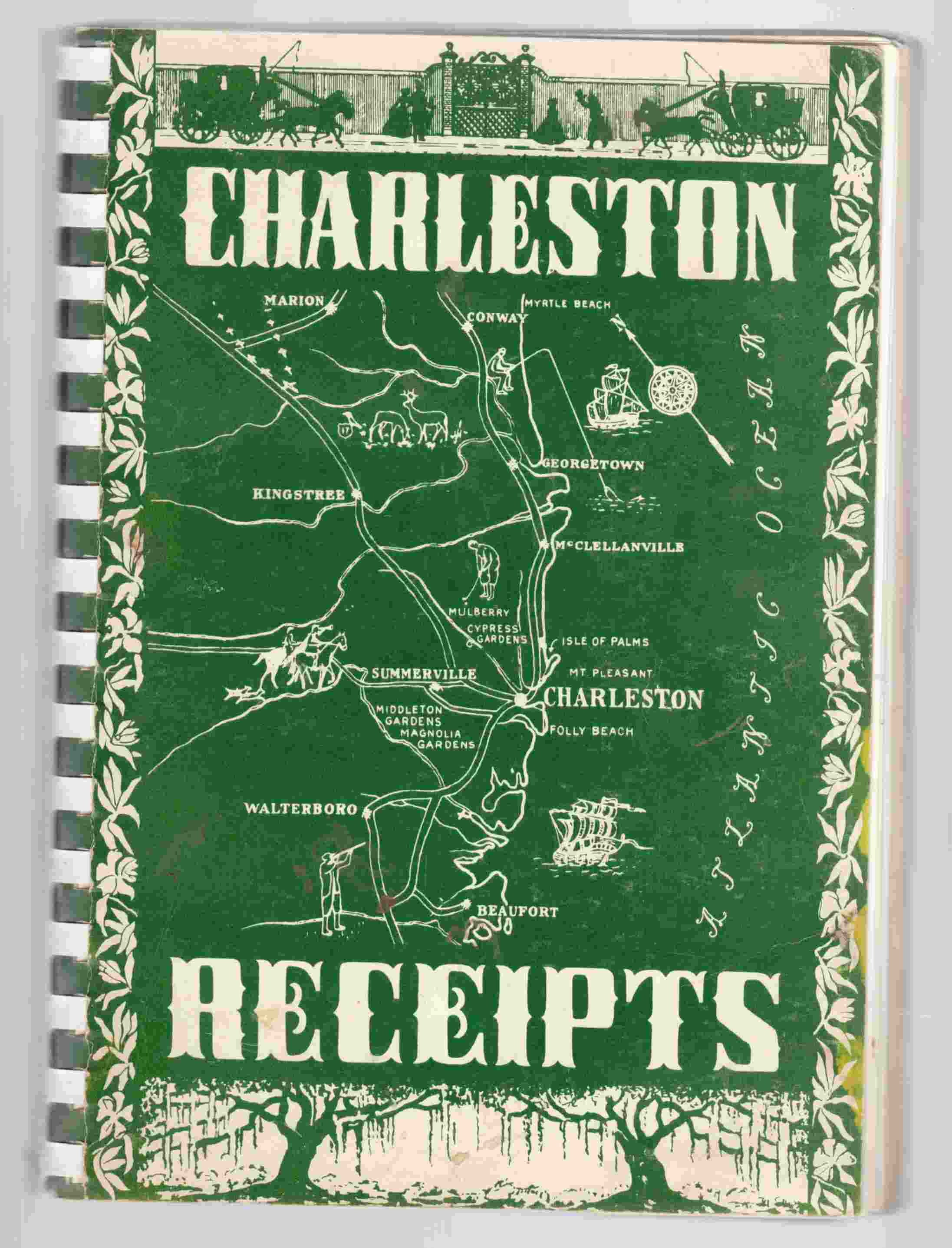 Image for Charleston Receipts
