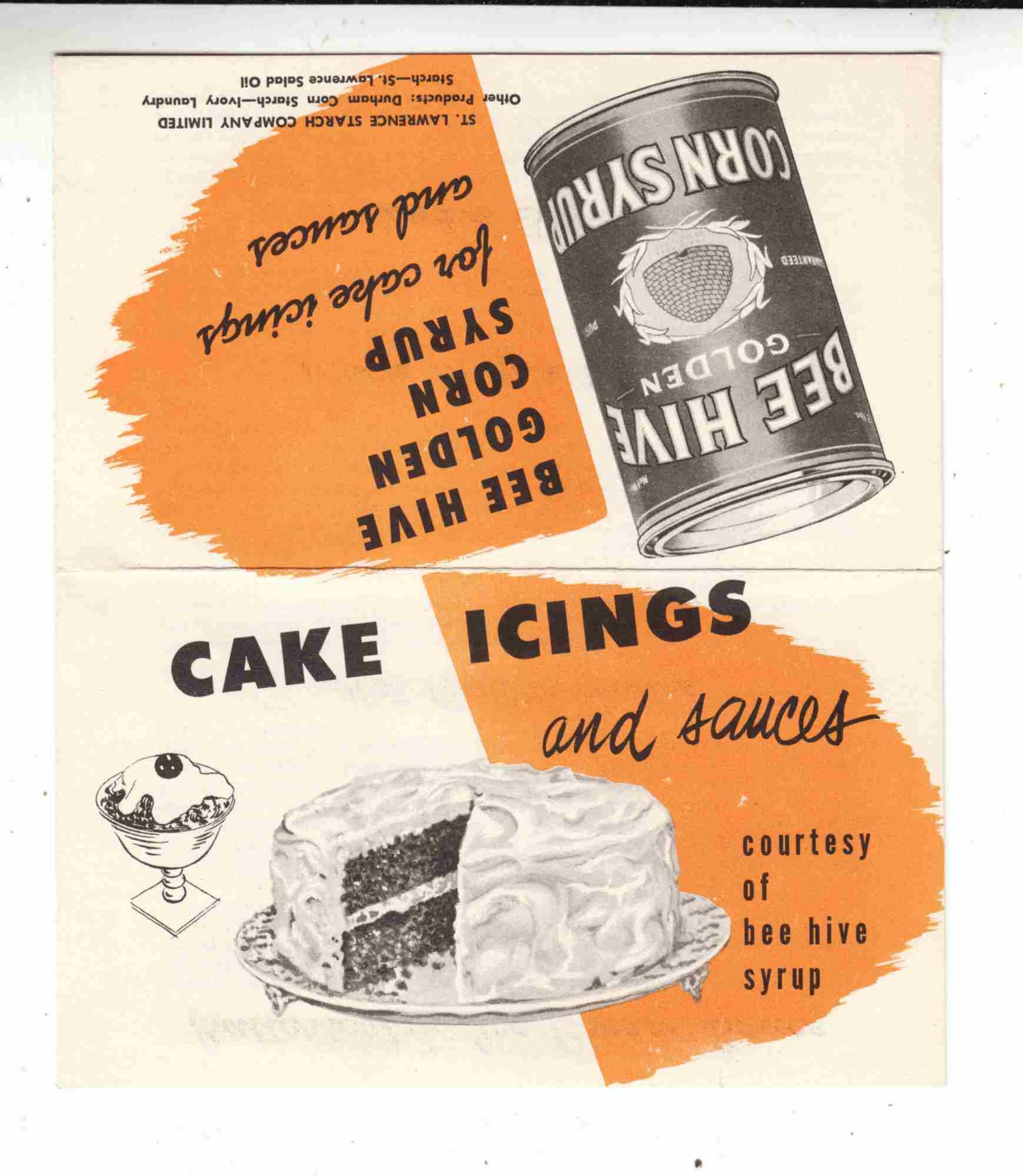 Image for Cake Icings and Sauces