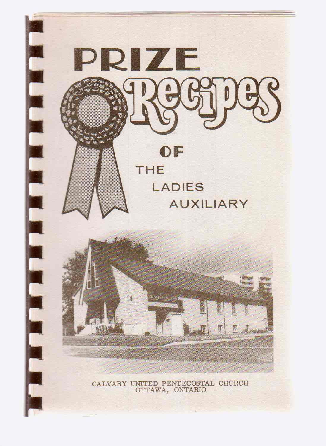 Image for Prize Recipes of the Ladies Auxiliary