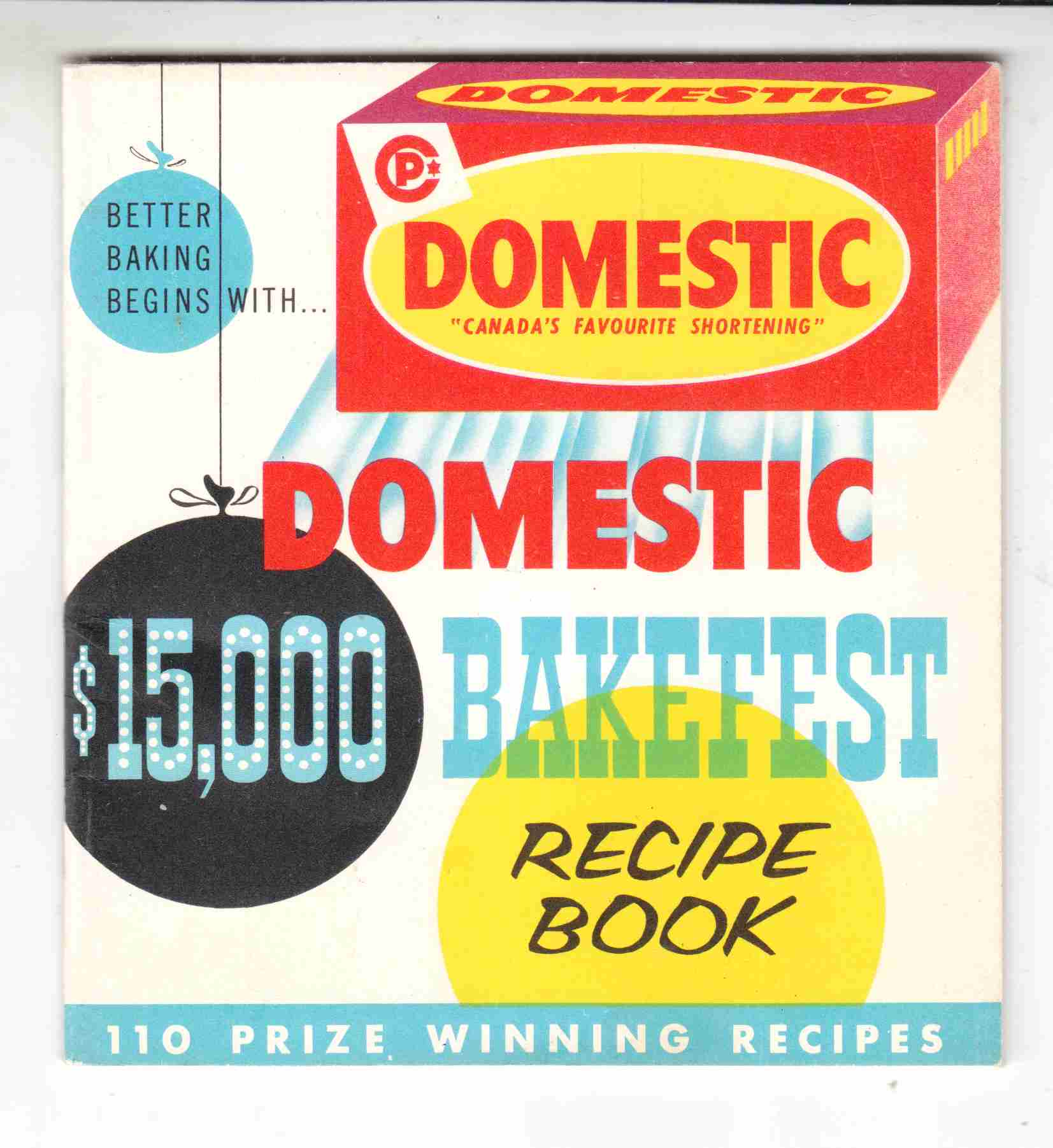 Image for Domestic $15000 Bakefest Recipe Book