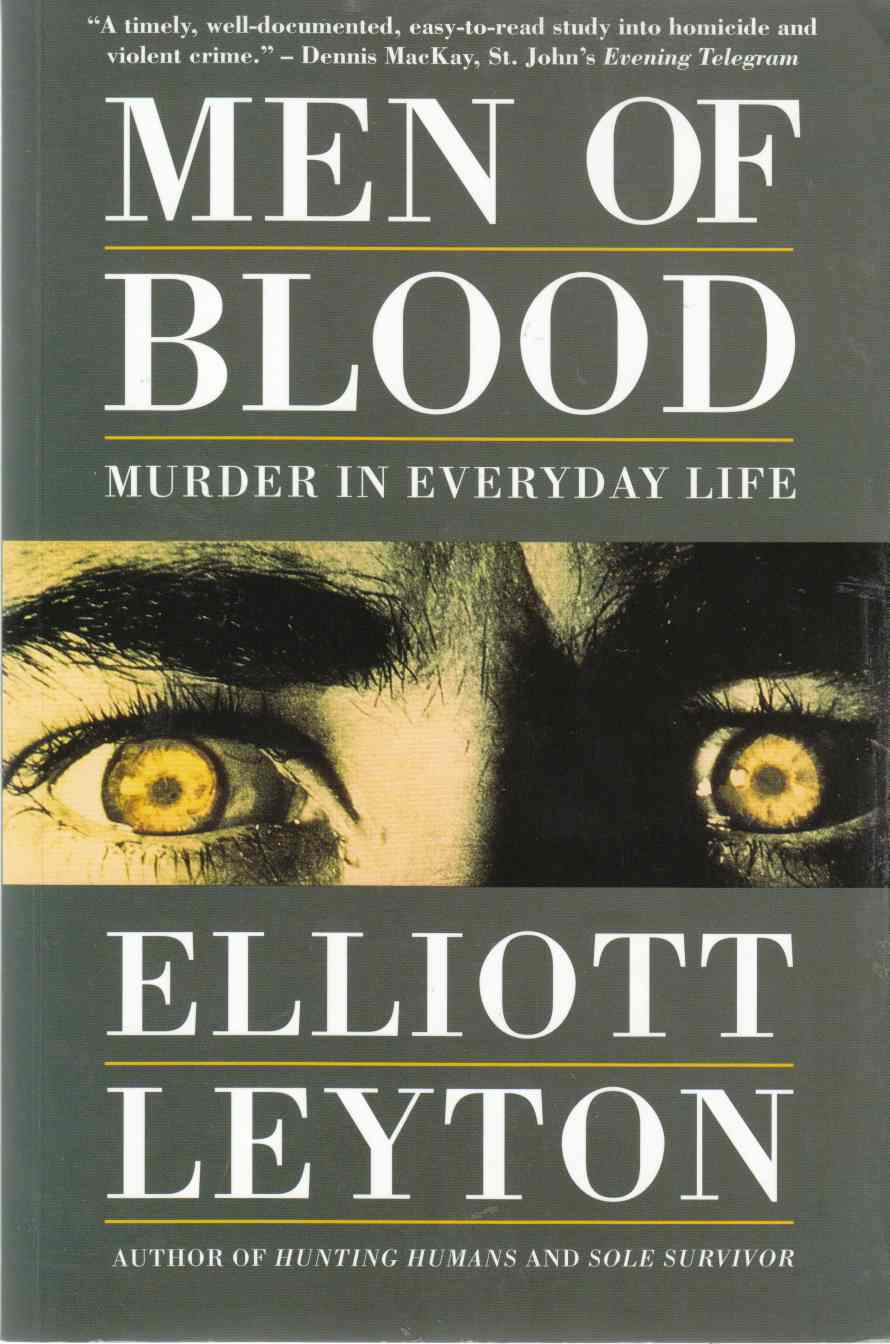 Image for Men of Blood Murder in Everyday Life